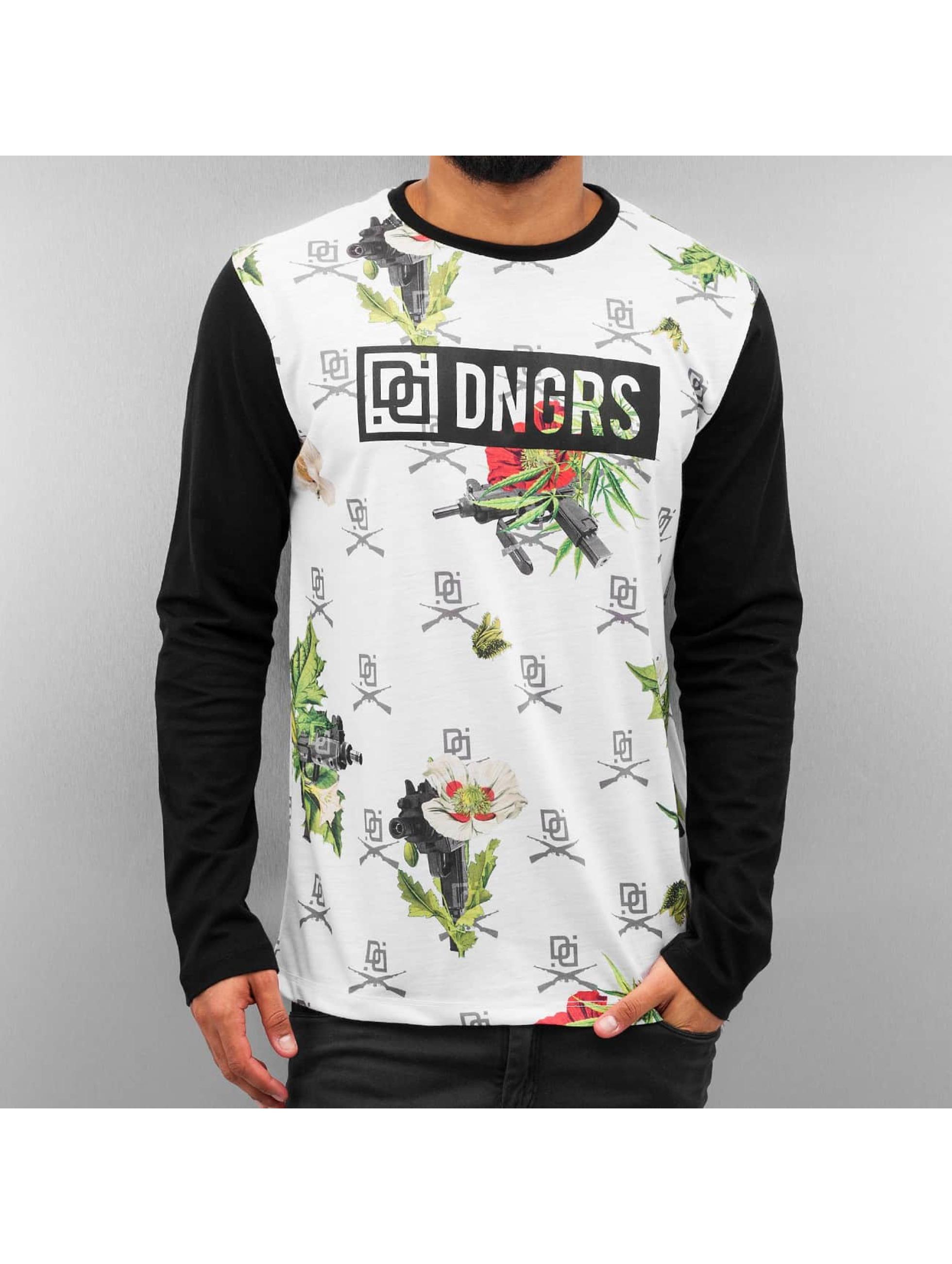 Dangerous DNGRS T-Shirt manches longues Weapon blanc