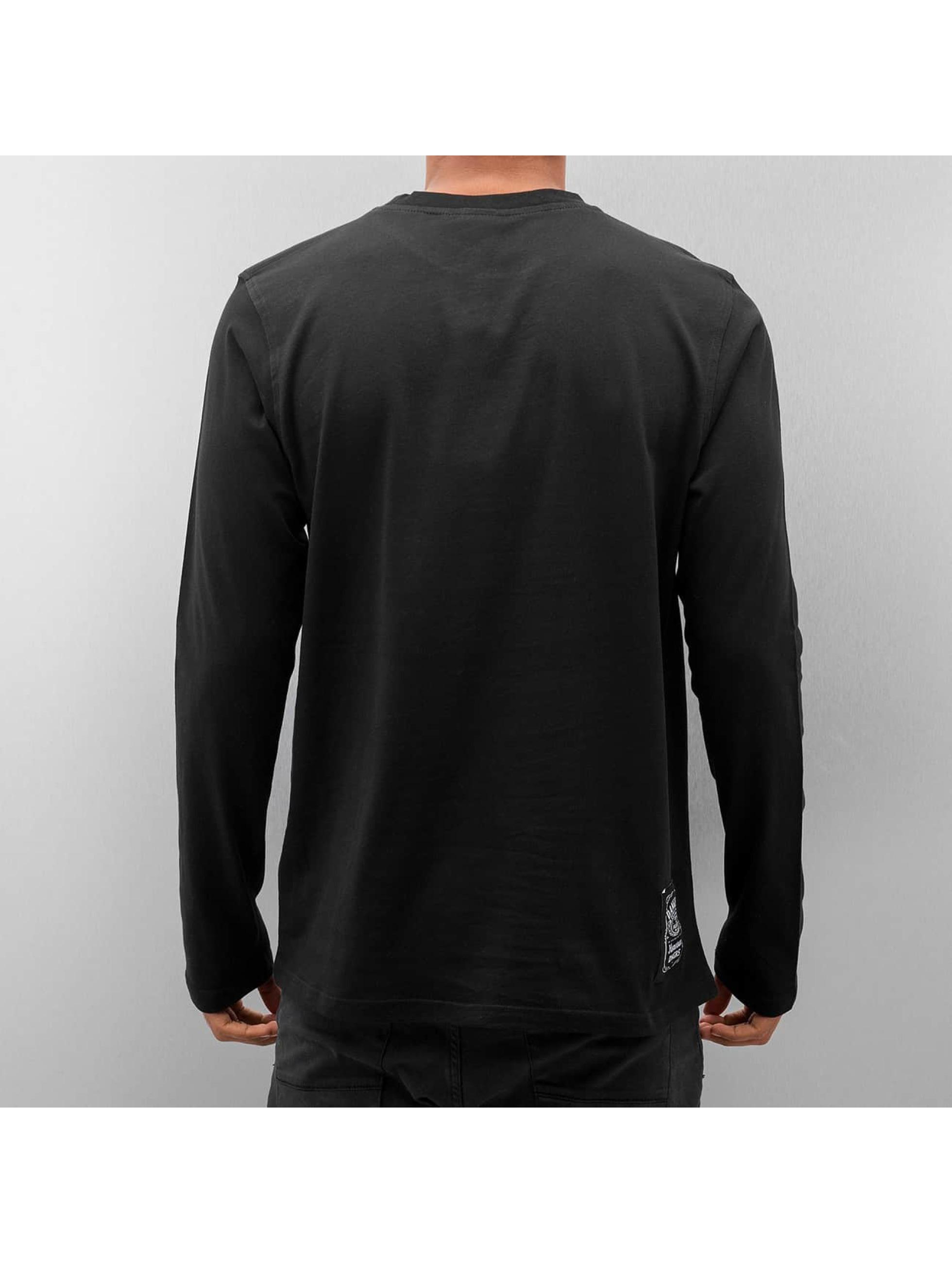 Dangerous DNGRS T-Shirt manches longues Whiskey noir