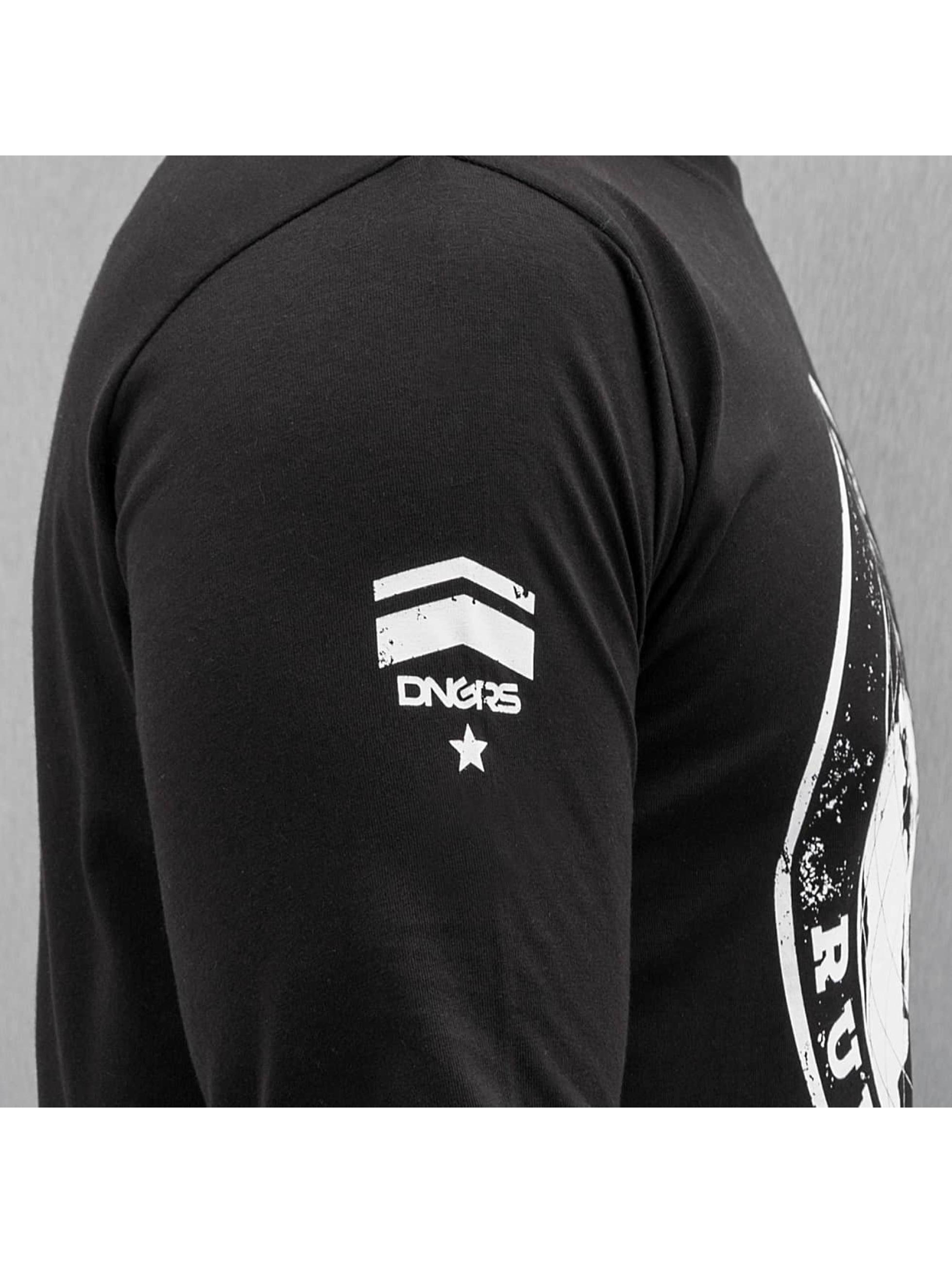Dangerous DNGRS T-Shirt manches longues Rule The World noir