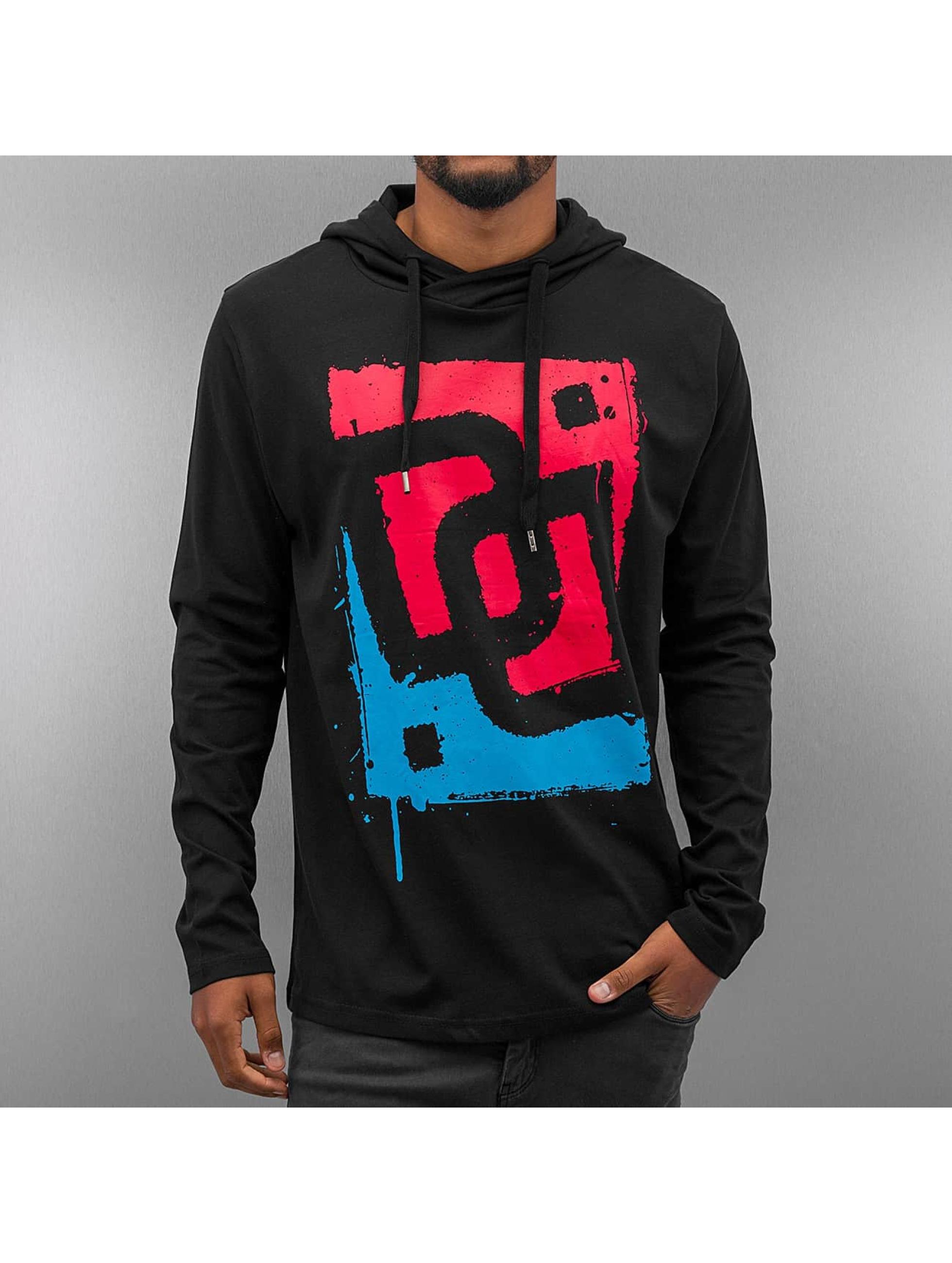 Dangerous DNGRS T-Shirt manches longues Logo Race City noir