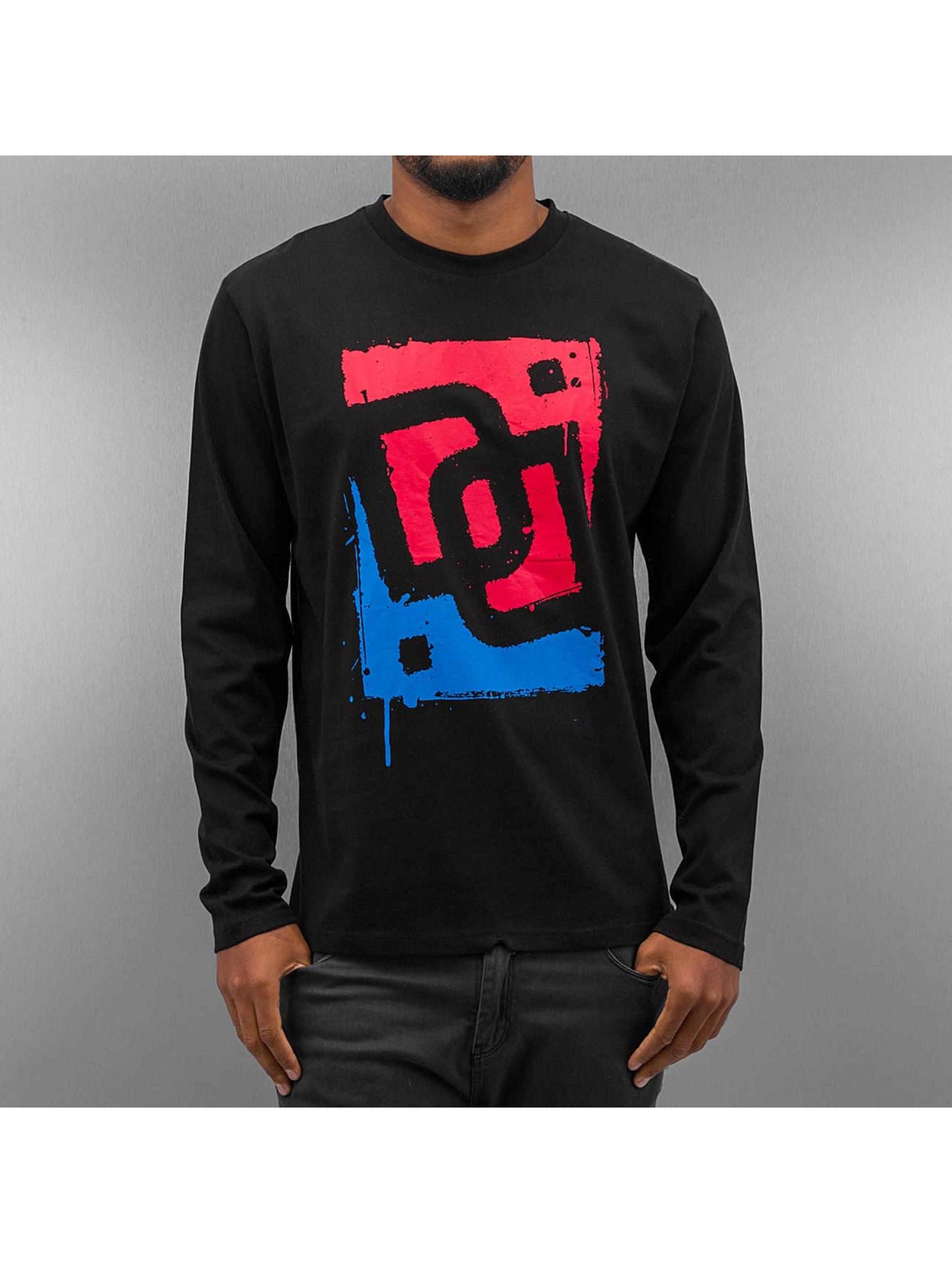 Dangerous DNGRS T-Shirt manches longues Drew Race City noir