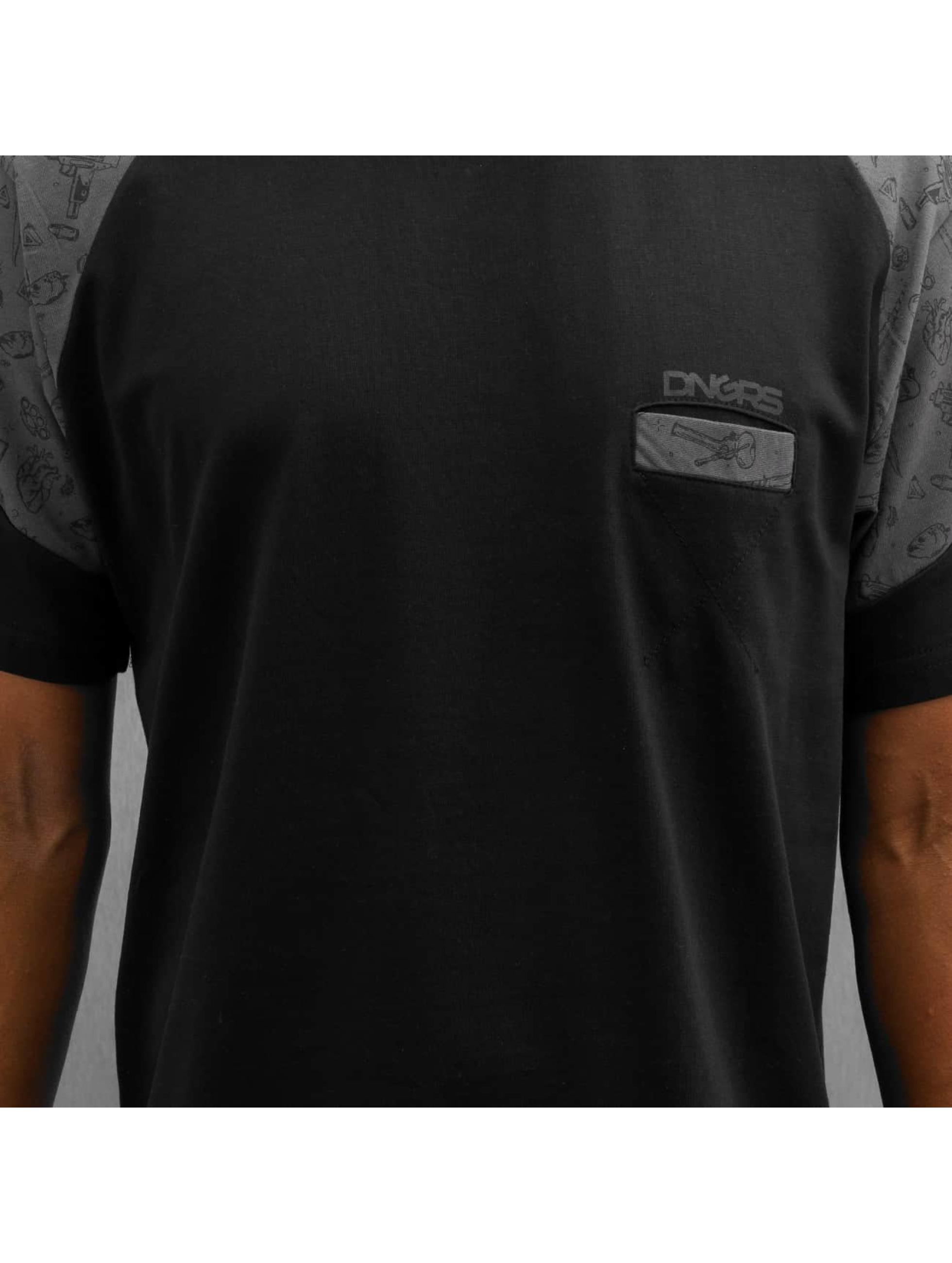 Dangerous DNGRS T-Shirt Cirilo noir