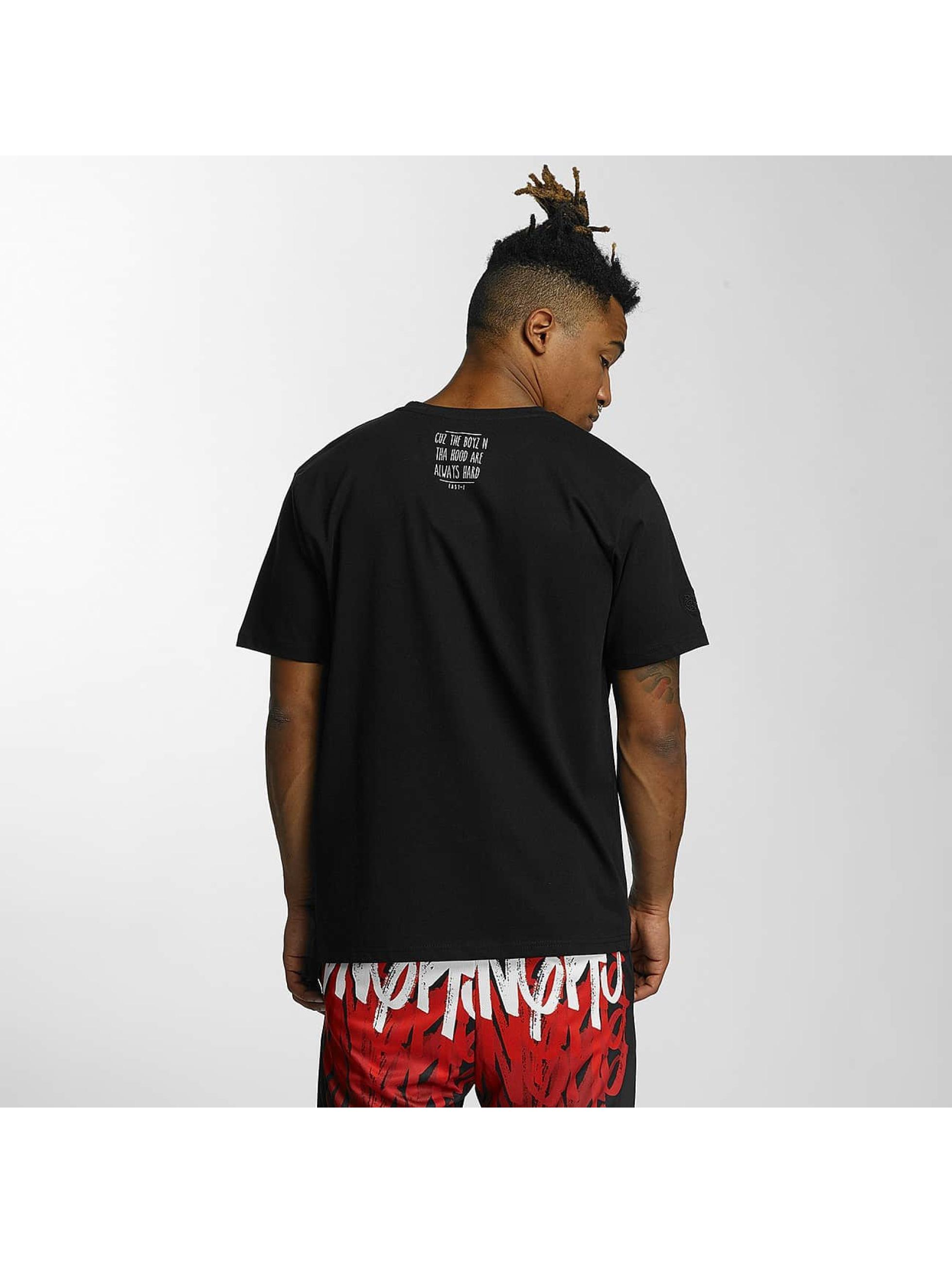 T-Shirt Dangerous DNGRS Liebeisdead en noir