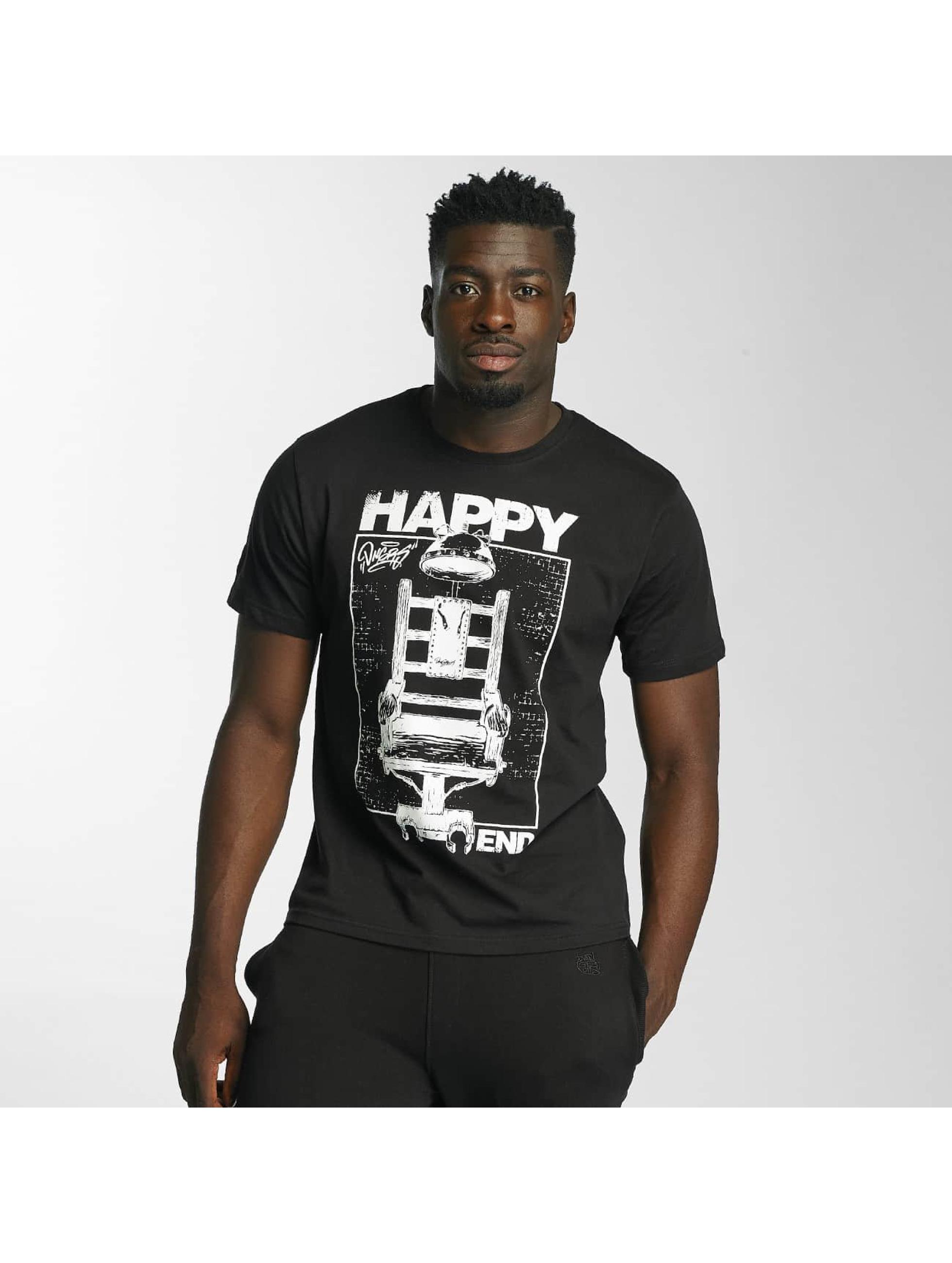 Dangerous DNGRS T-Shirt Happyend noir
