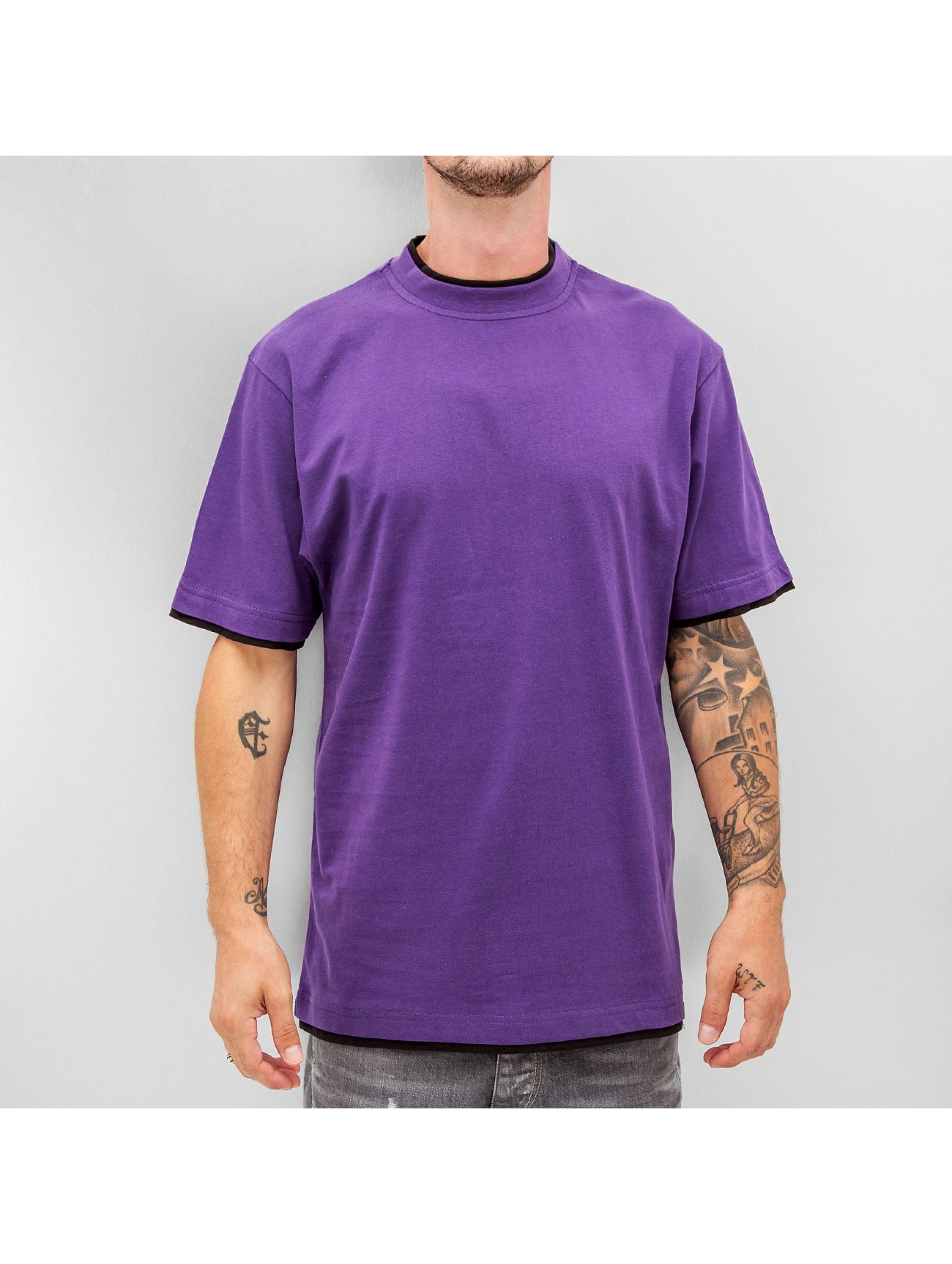 Dangerous DNGRS t-shirt Two Tone Regular paars