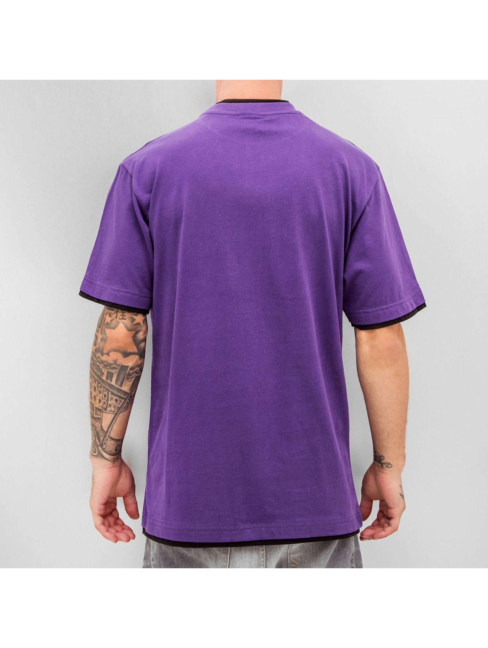 Dangerous DNGRS T-Shirt Two Tone Regular pourpre