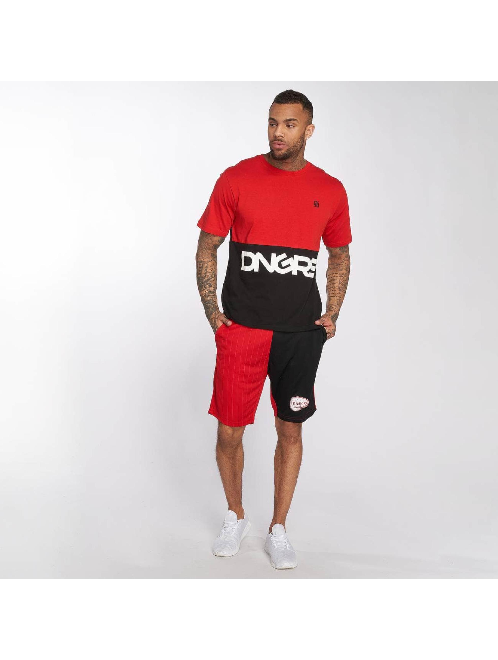 Dangerous DNGRS T-Shirt Big Logo rouge