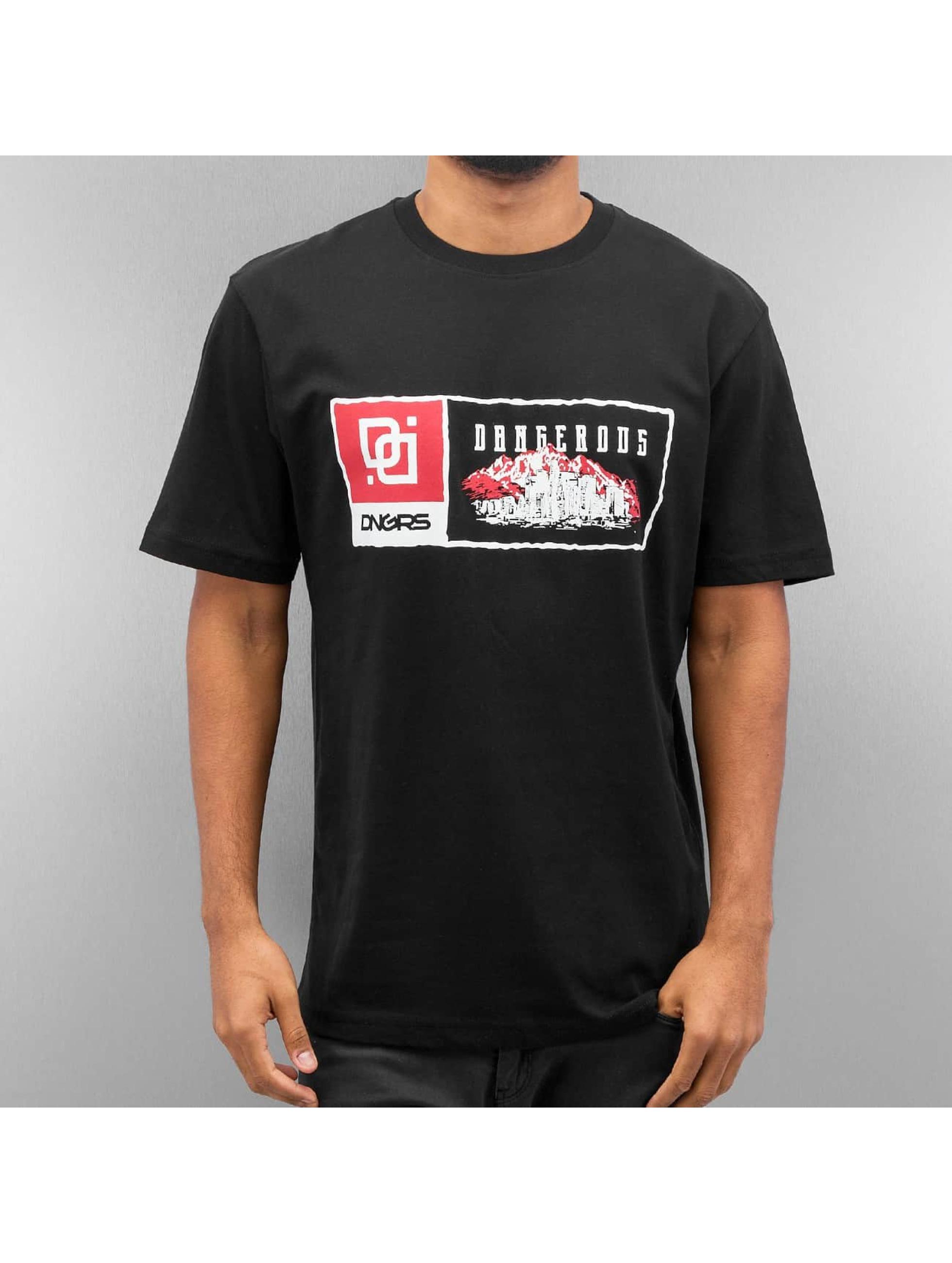 Dangerous DNGRS T-Shirt Scott schwarz
