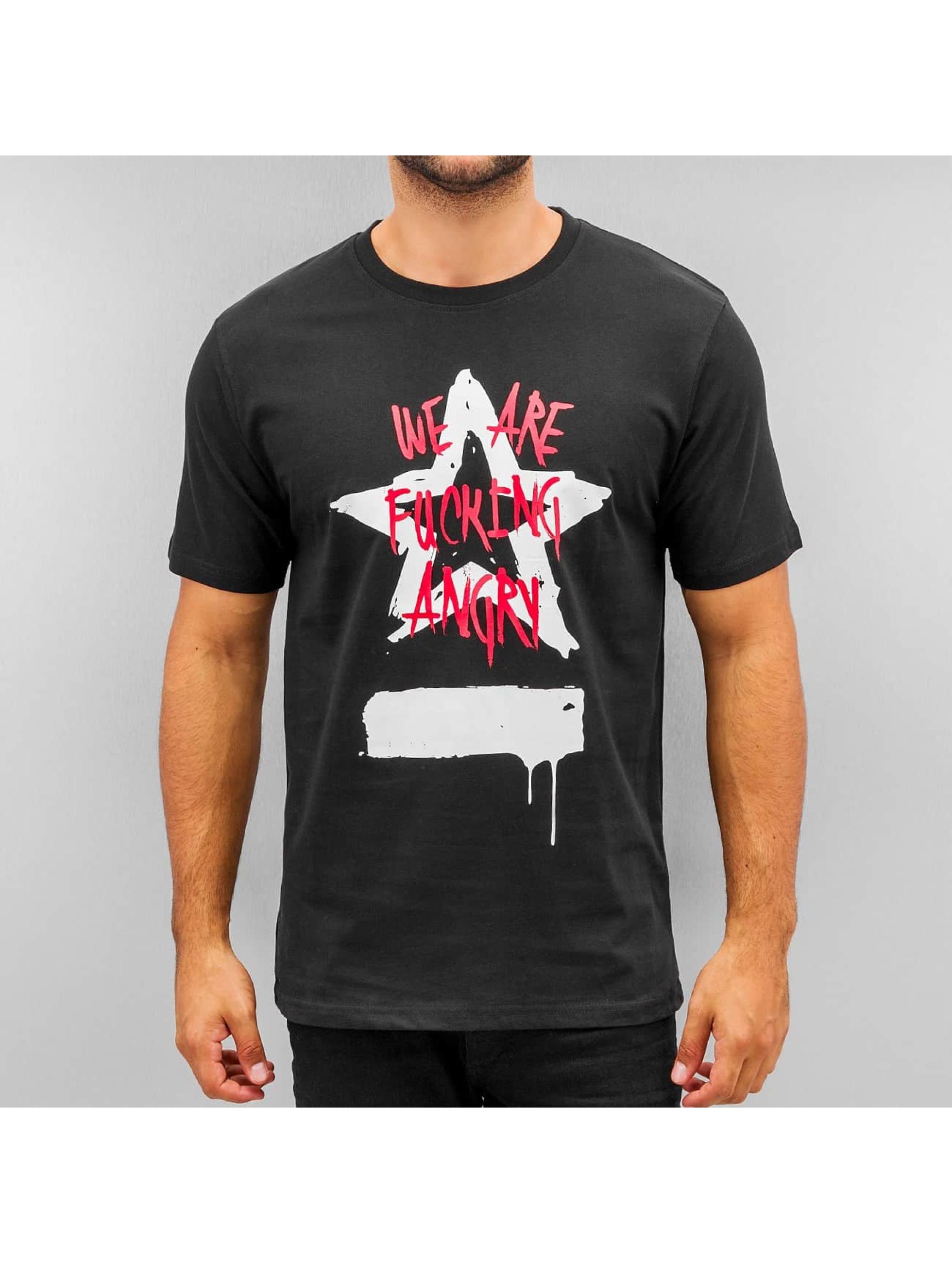 Dangerous DNGRS T-Shirt Angry schwarz