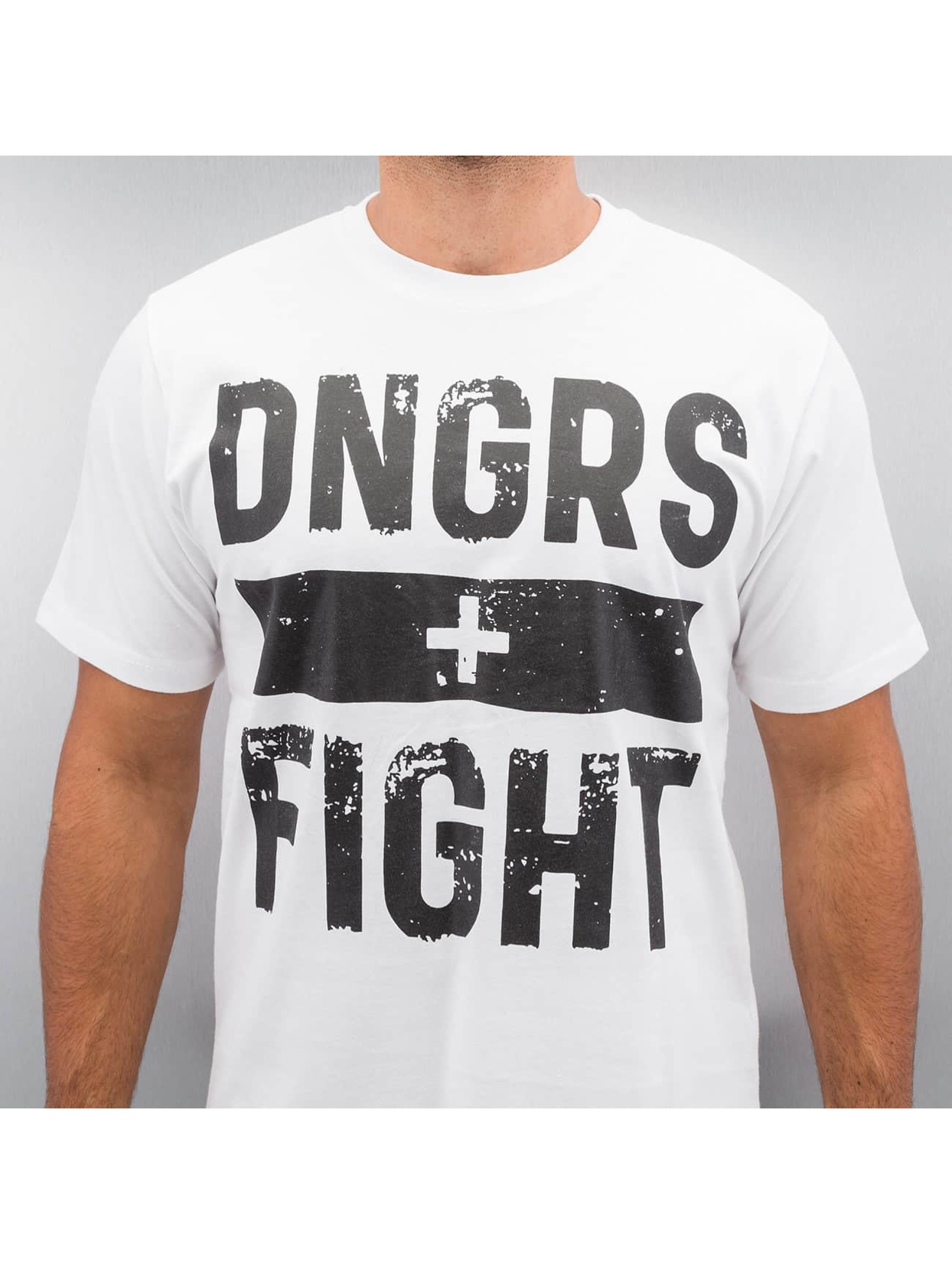 Dangerous DNGRS T-Shirt Fight weiß