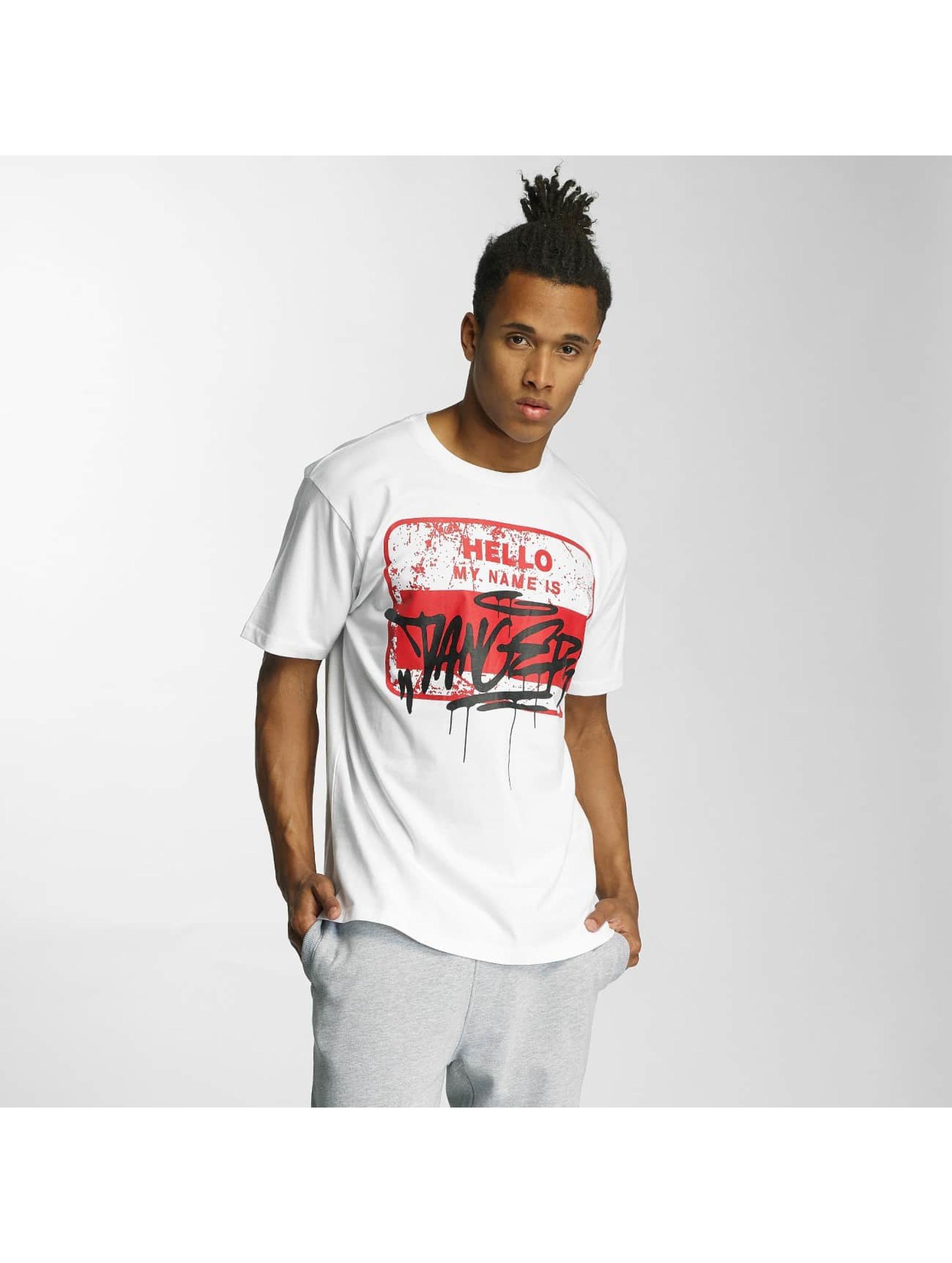 Dangerous DNGRS T-Shirt Hello weiß
