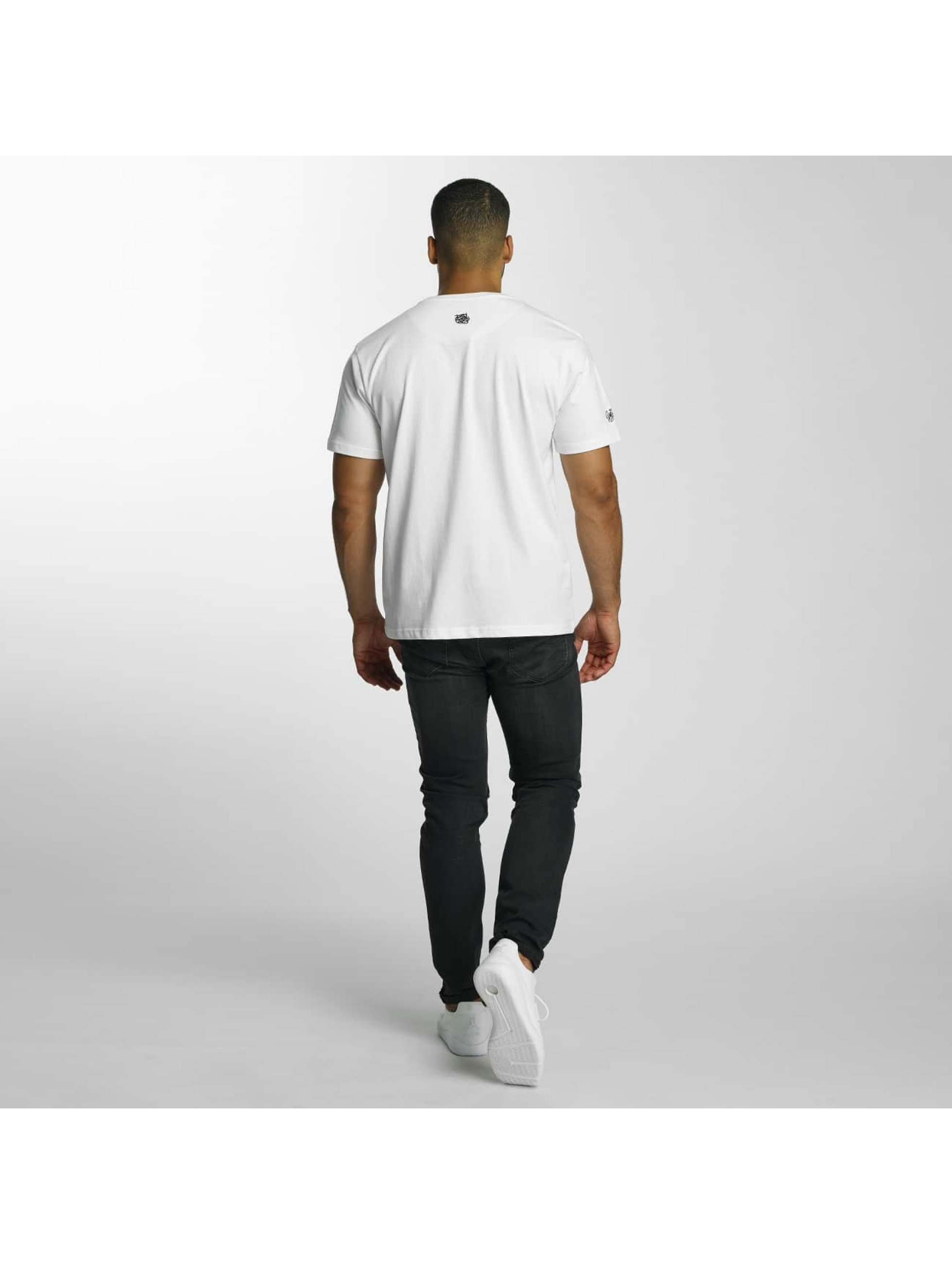 Dangerous DNGRS T-Shirt Scratchwork weiß