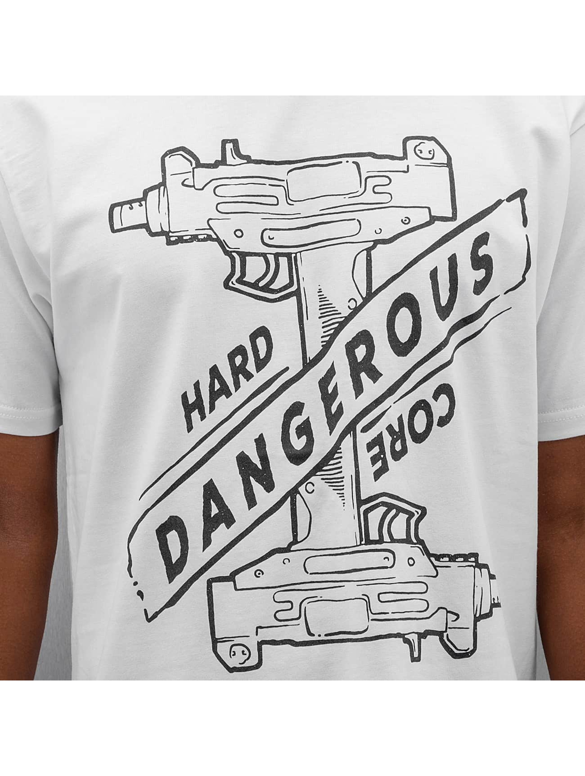 Dangerous DNGRS t-shirt Hardcore Uzi wit