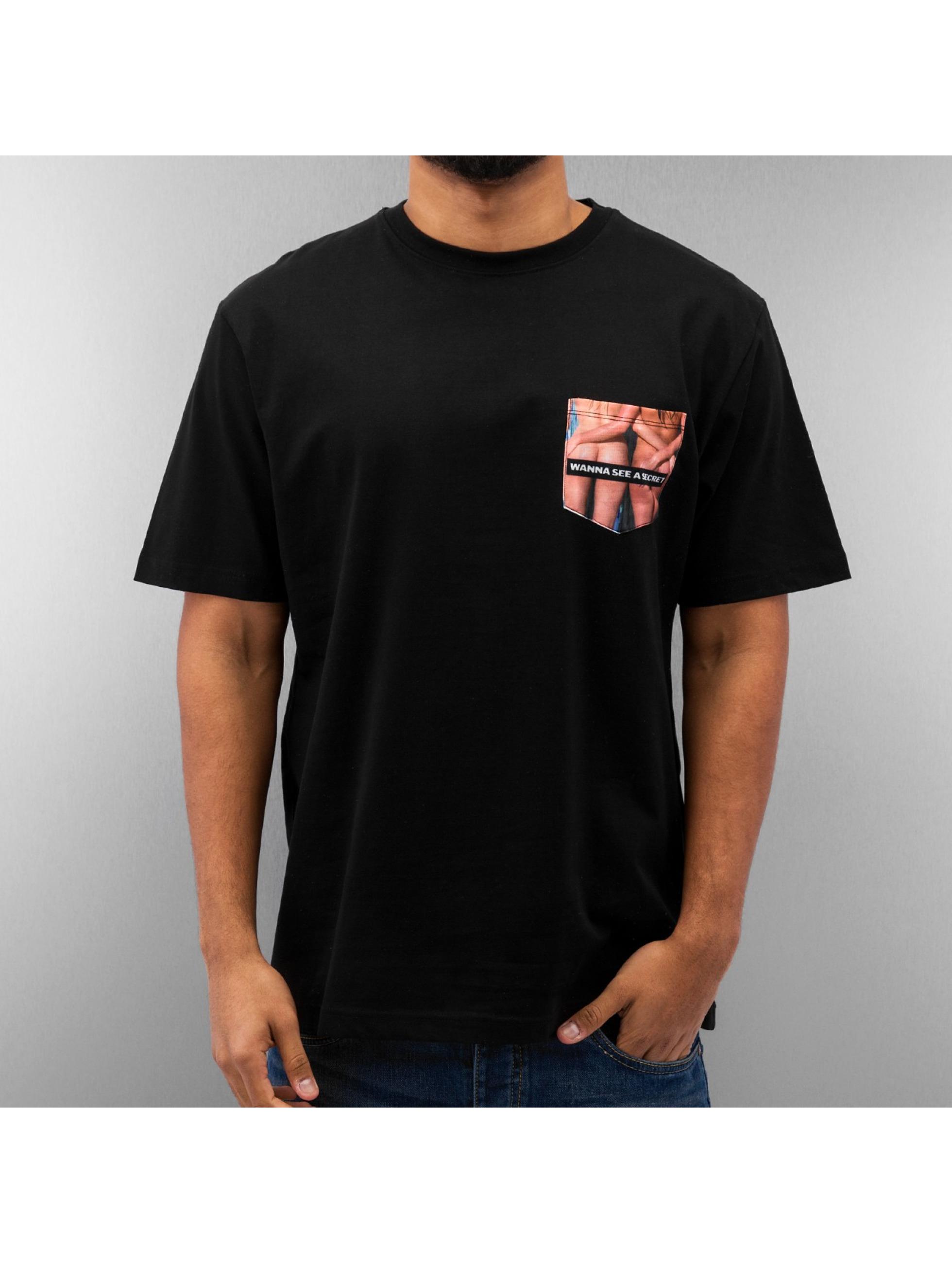 Dangerous DNGRS t-shirt sexy secret zwart
