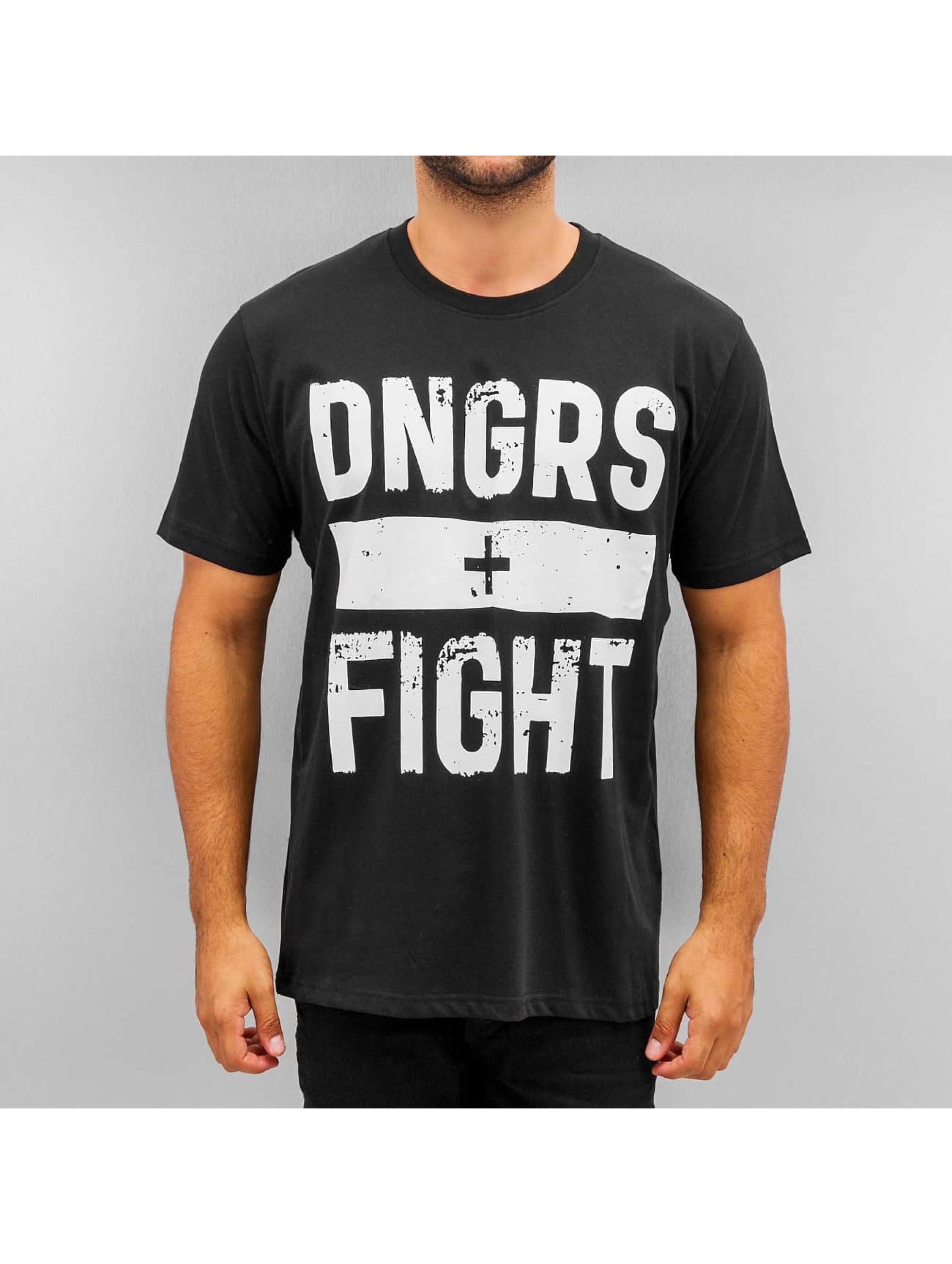 Dangerous DNGRS T-Shirty Fight czarny