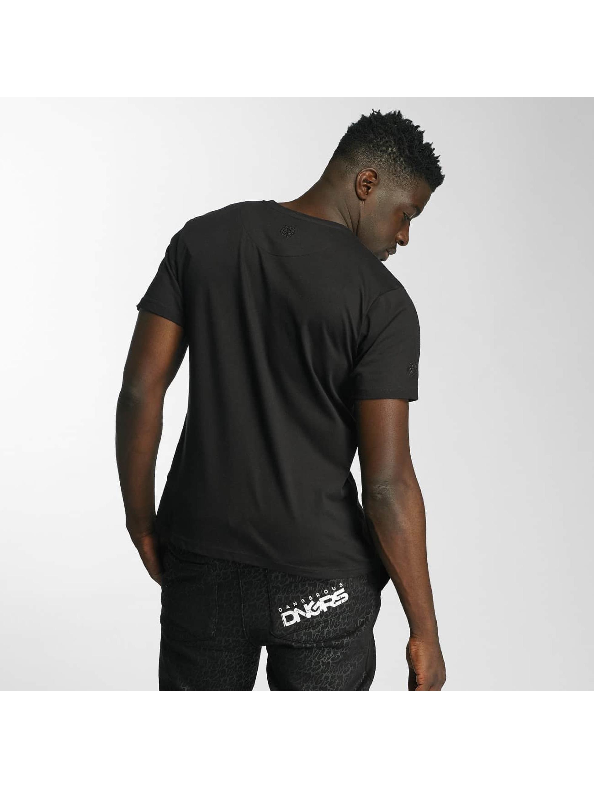Dangerous DNGRS T-Shirty Happyend czarny