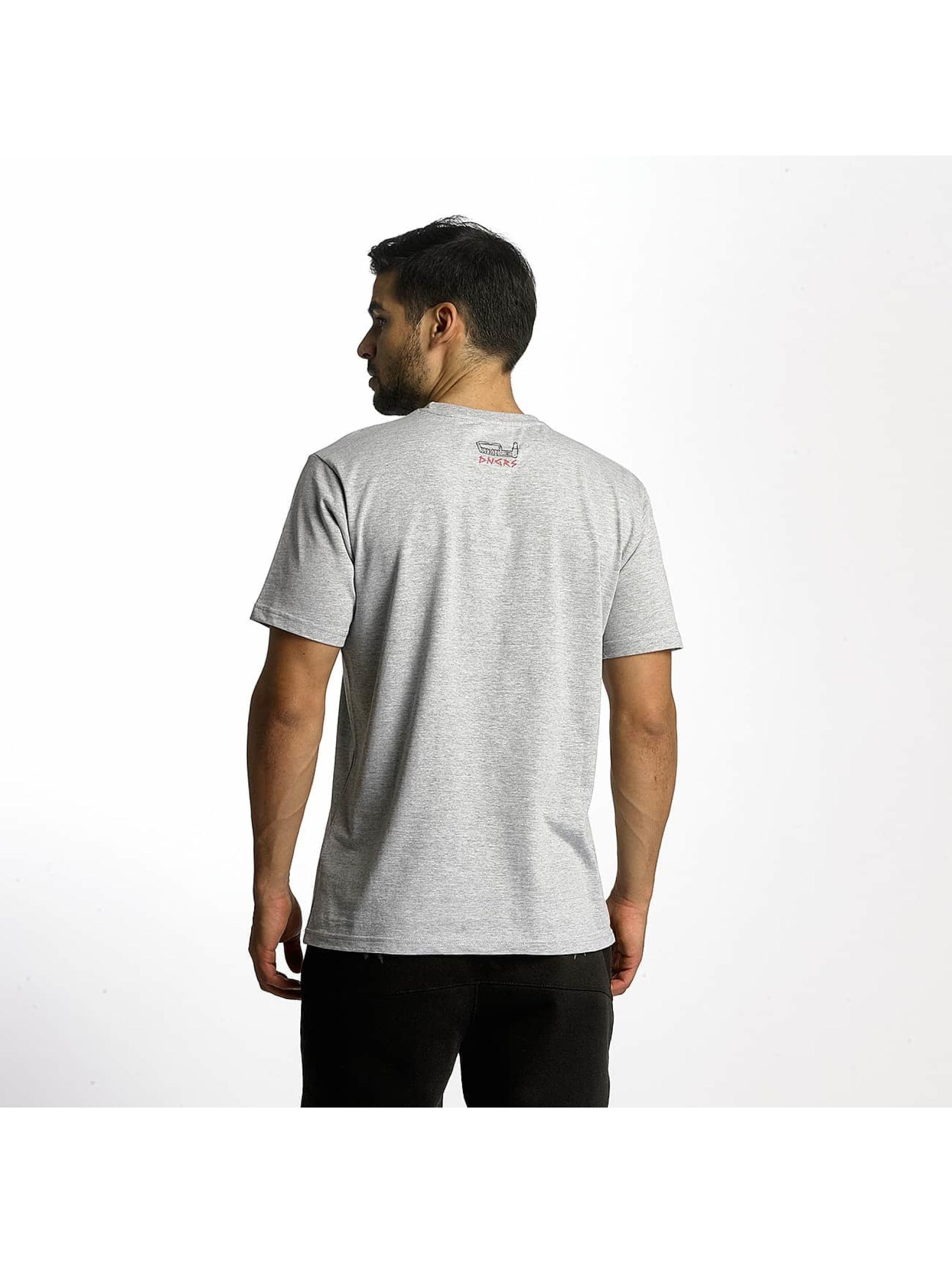 Dangerous DNGRS T-skjorter Boxing grå