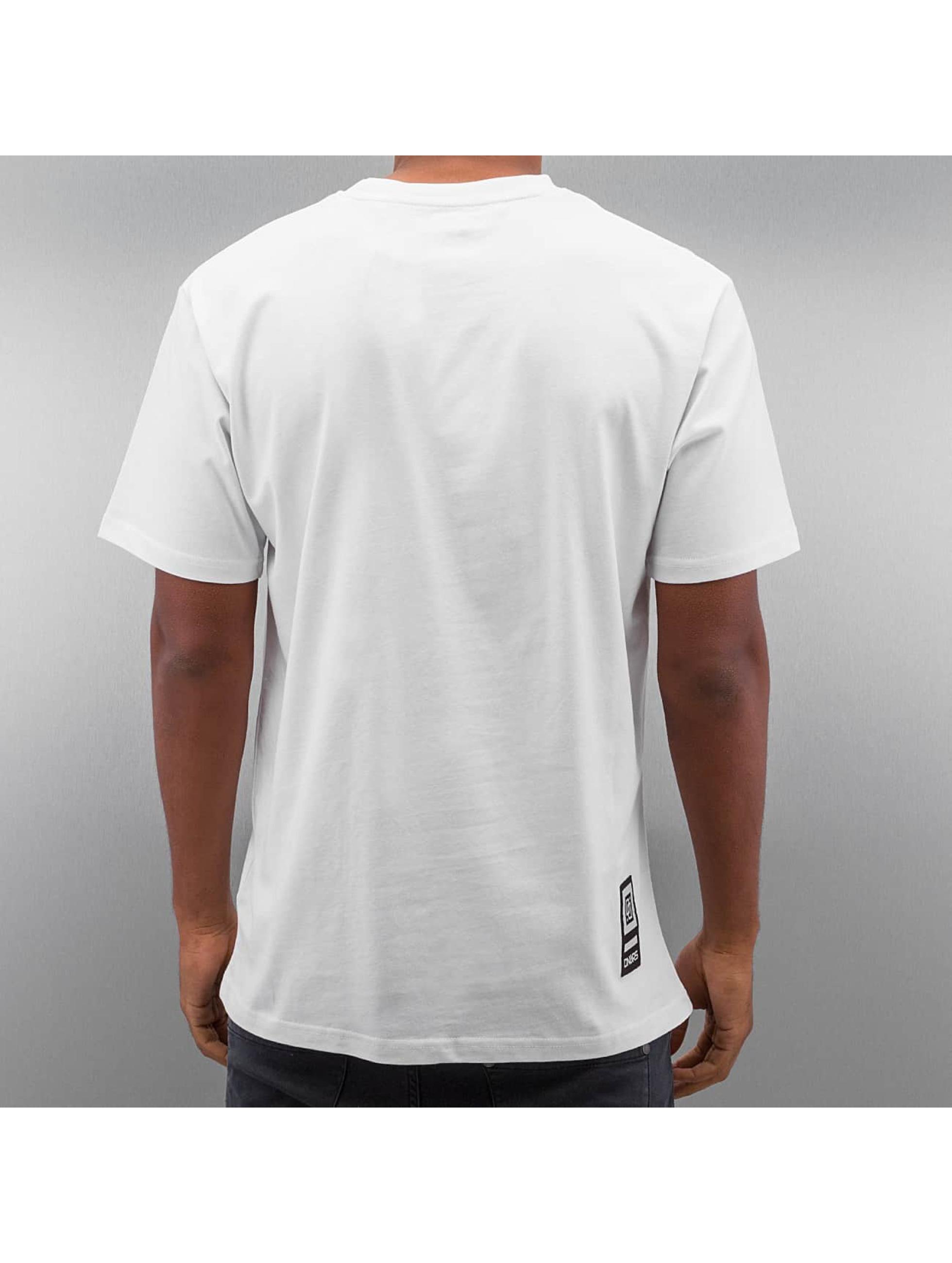Dangerous DNGRS T-skjorter Hardcore Uzi hvit