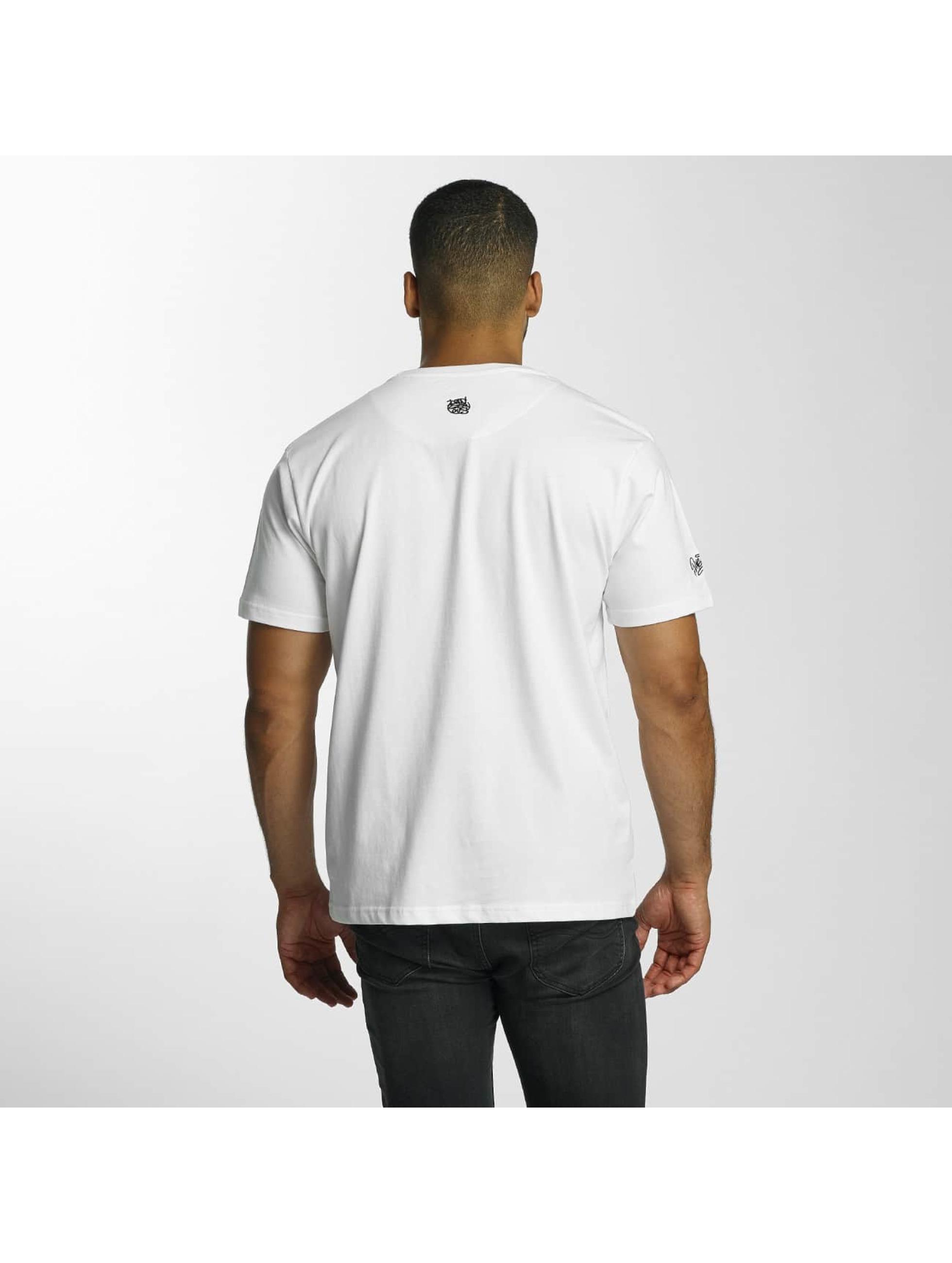 Dangerous DNGRS T-skjorter Scratchwork hvit