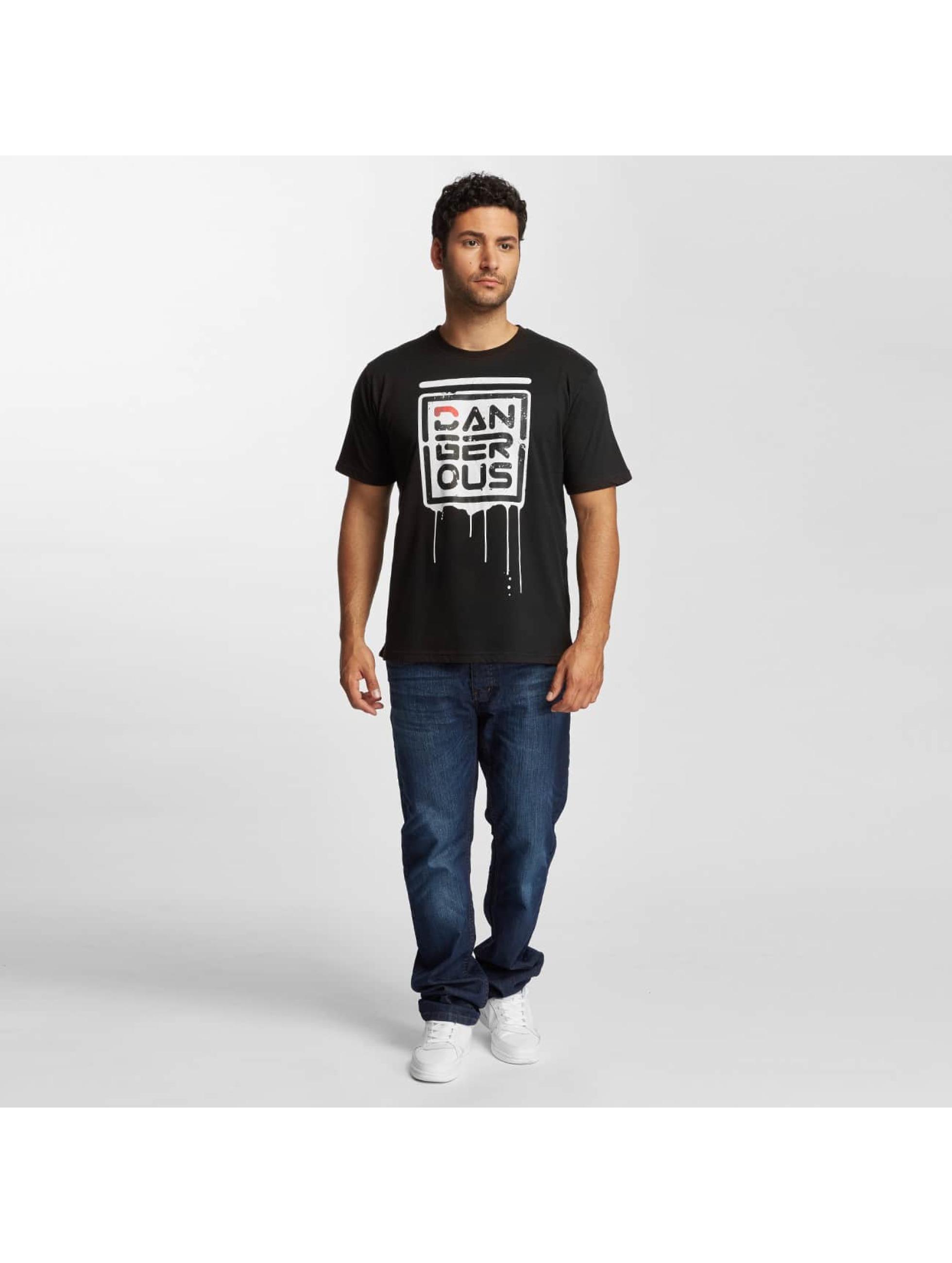 Dangerous DNGRS T-skjorter Alif svart