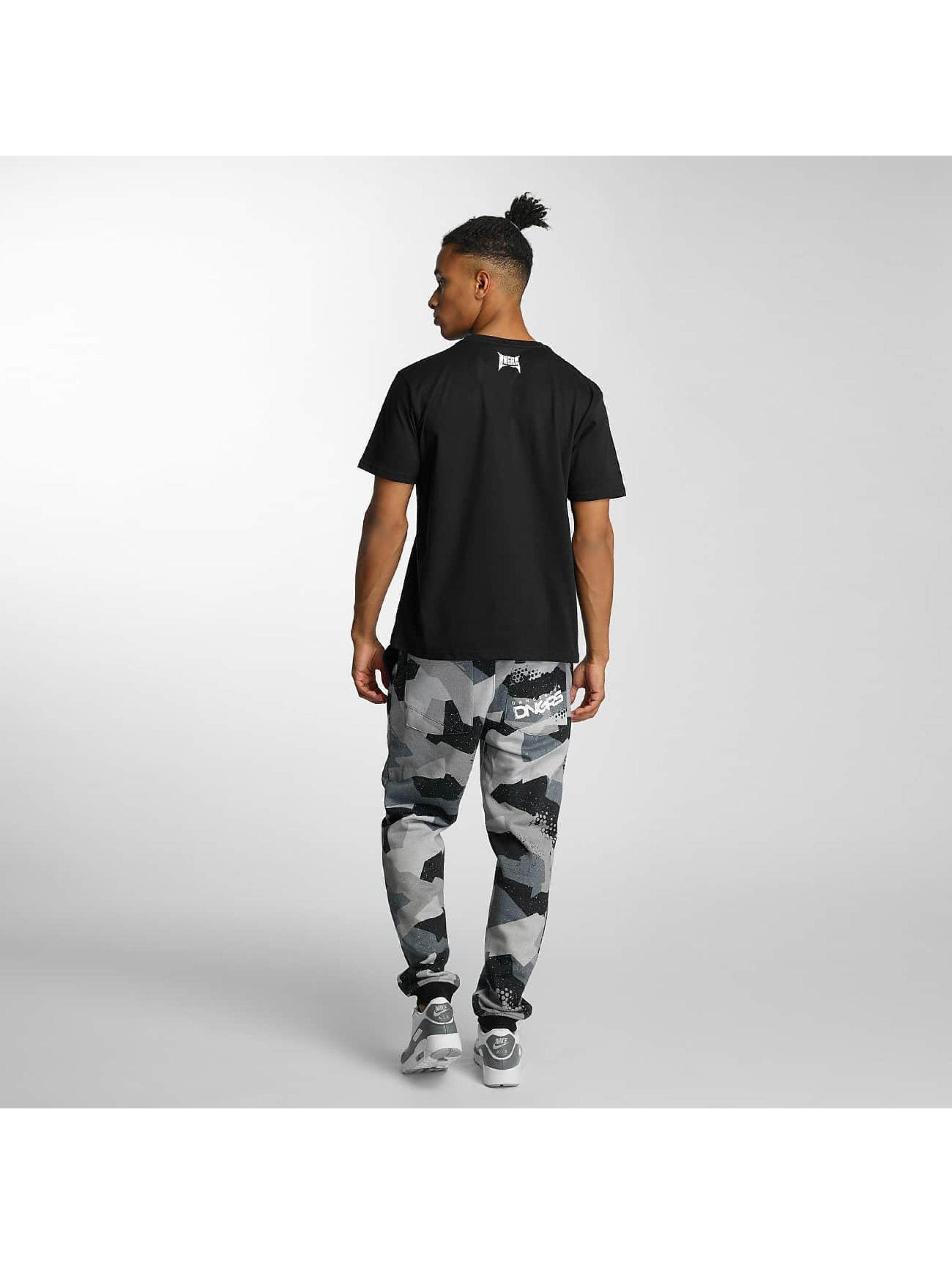 Dangerous DNGRS T-skjorter Methal svart