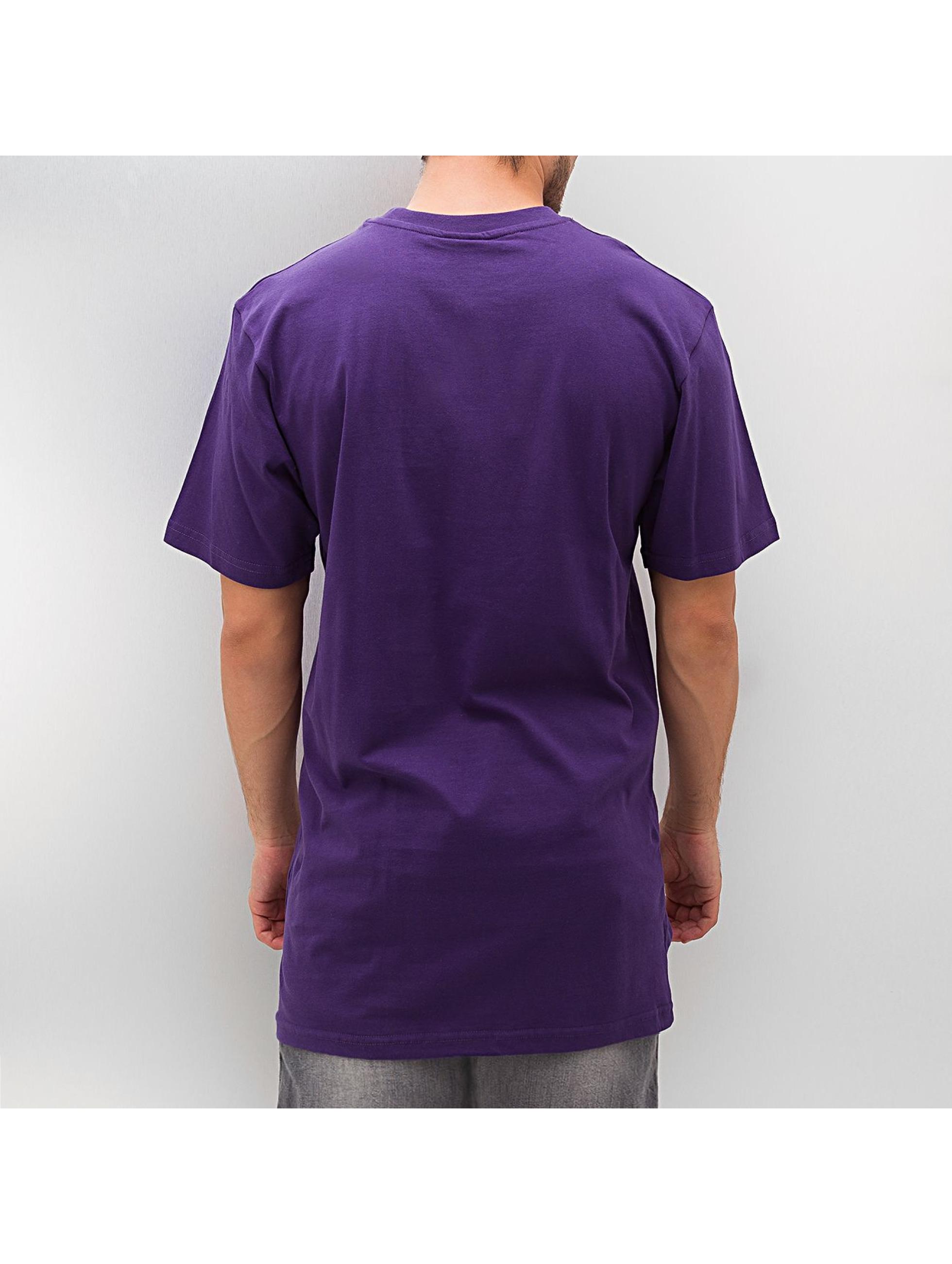 Dangerous DNGRS Tall Tees Blank пурпурный