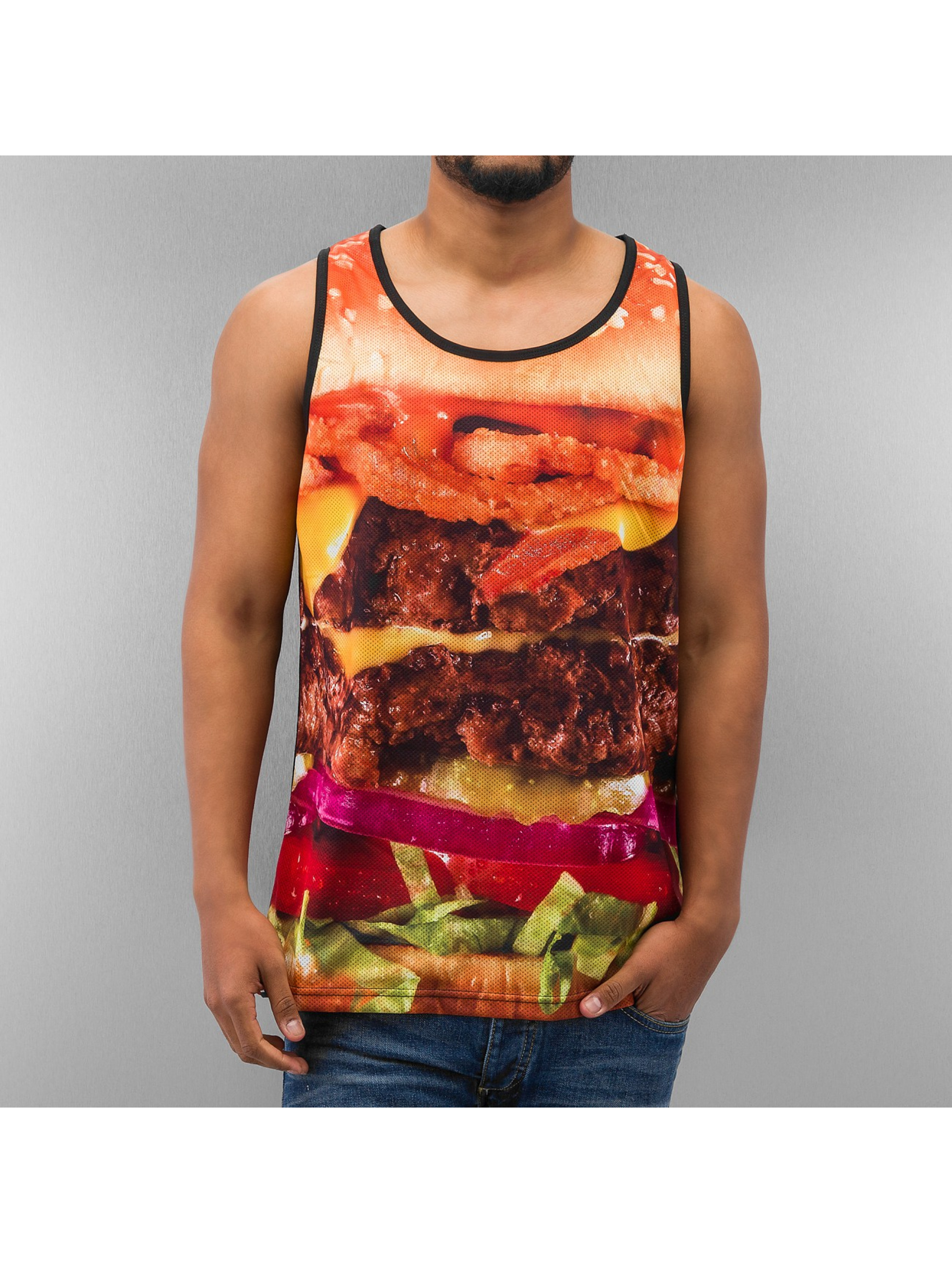 Dangerous DNGRS Tank Tops Burger musta