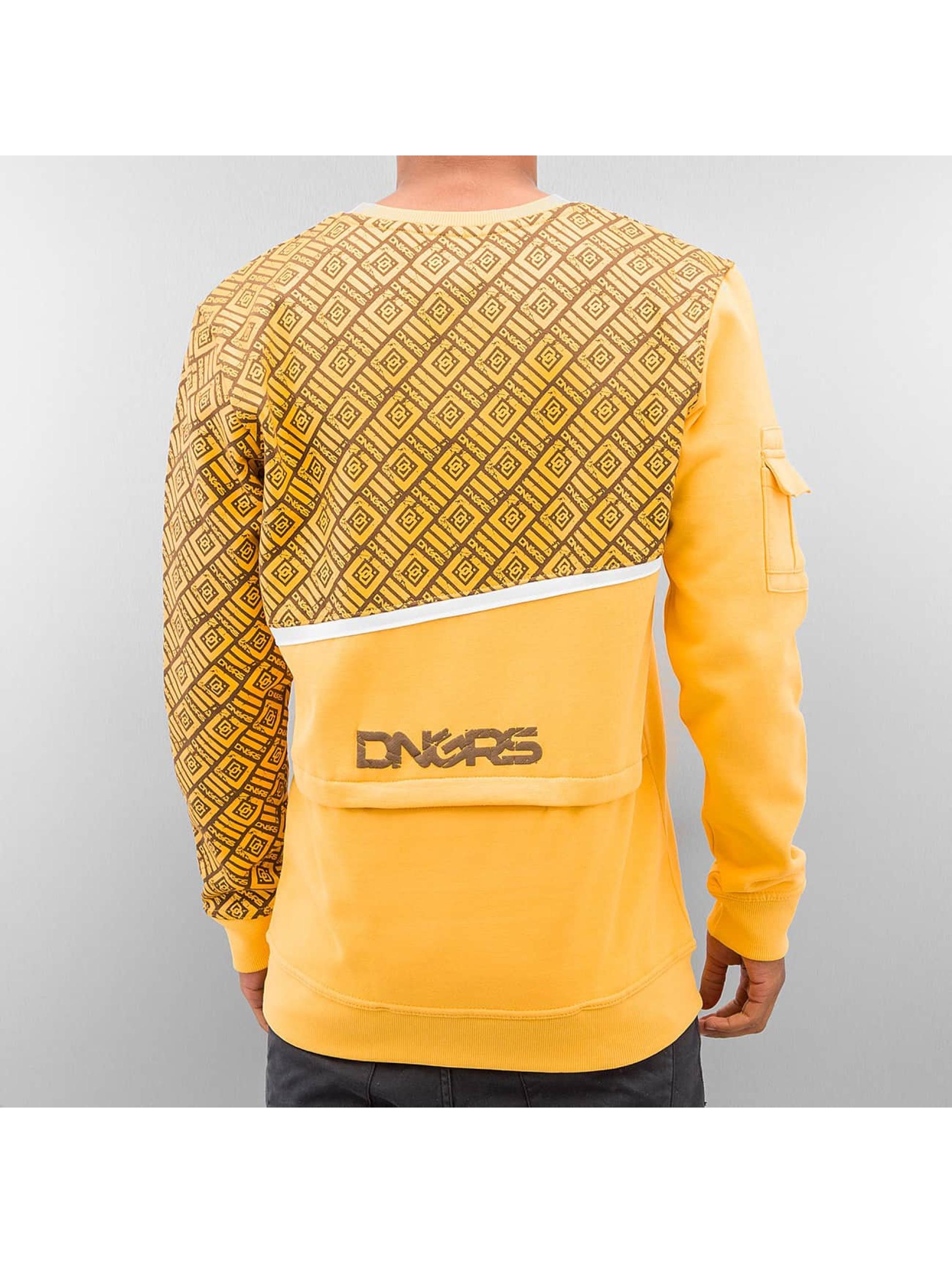 Dangerous DNGRS trui All Over bruin