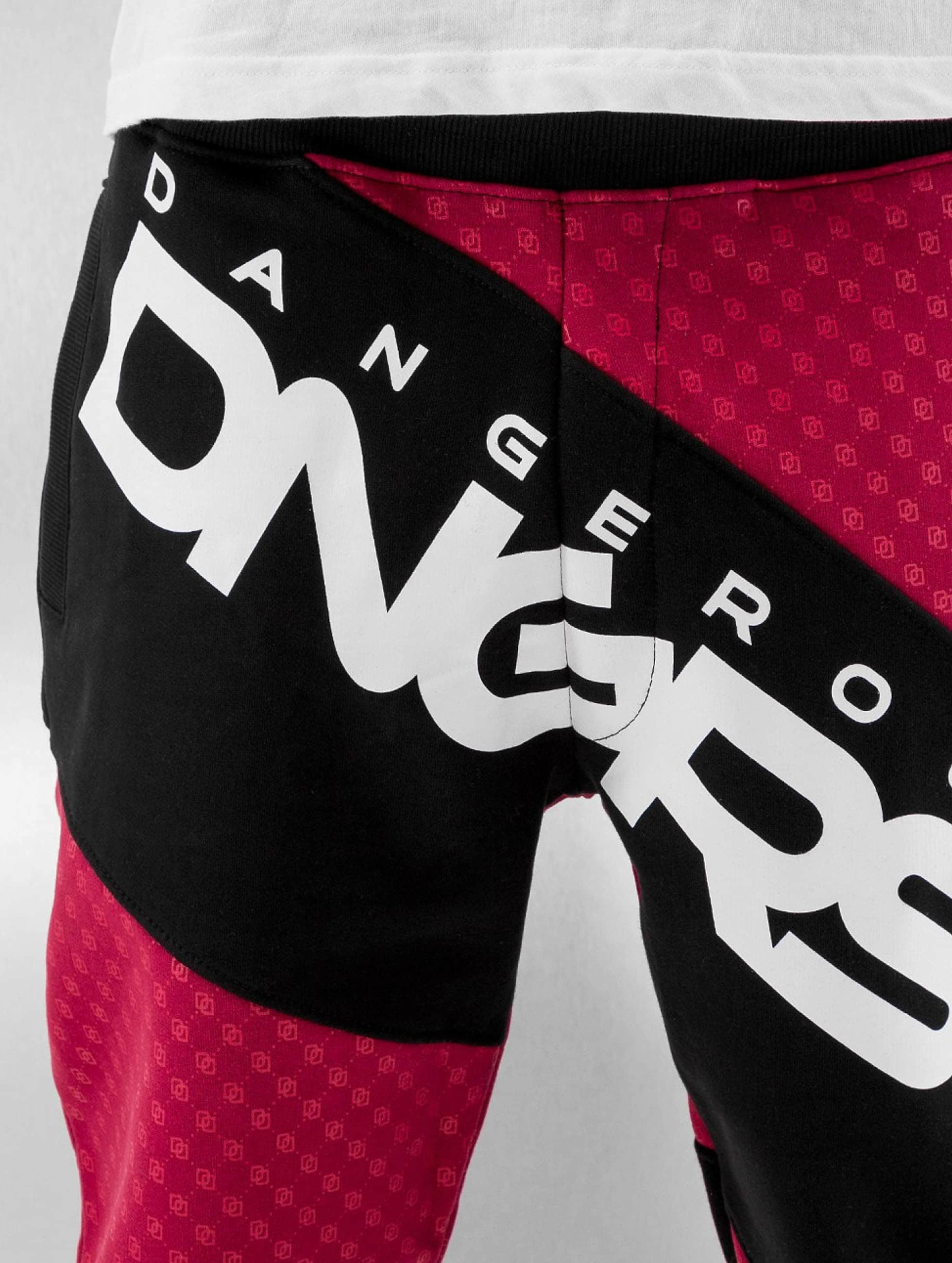 Dangerous DNGRS Verryttelyhousut Toco punainen