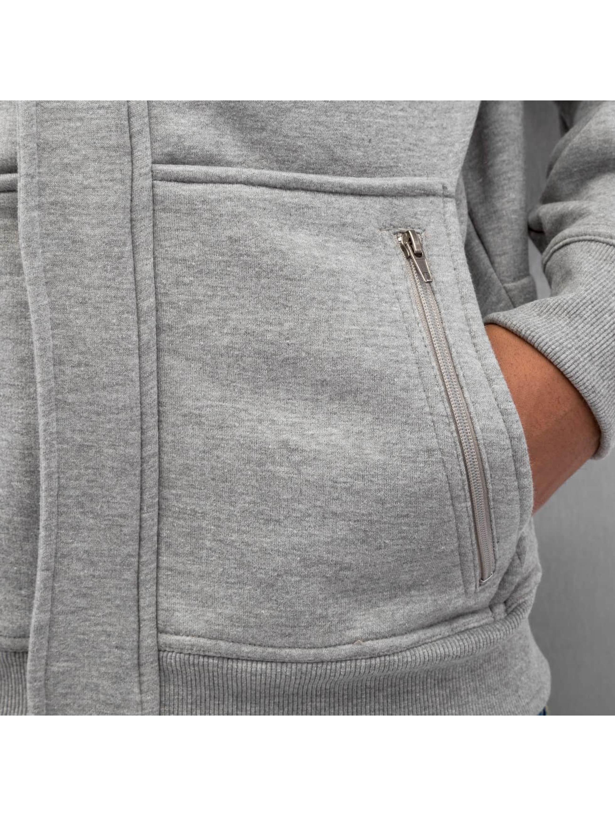 Dangerous DNGRS Zip Hoodie DNGRS серый