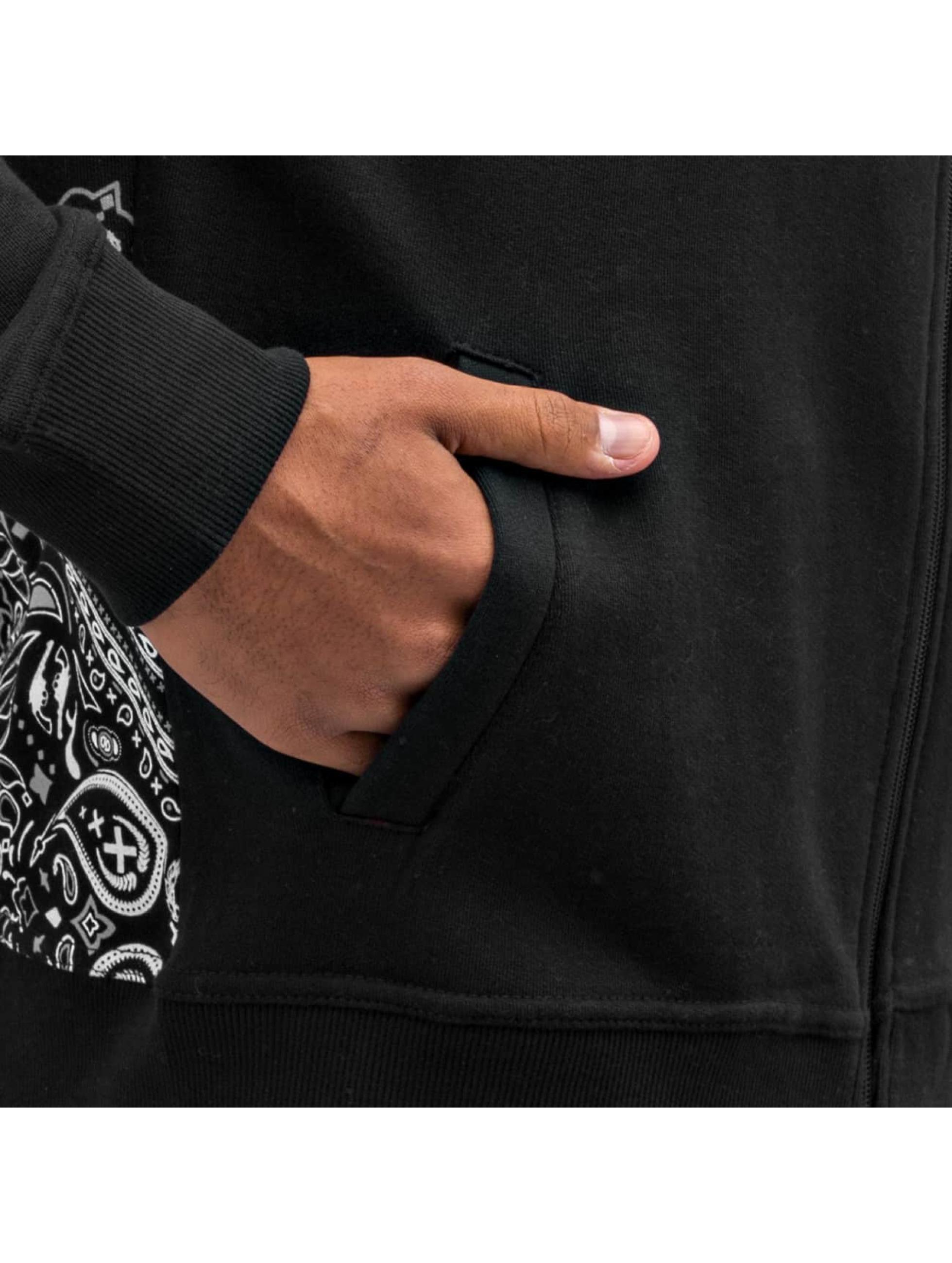 Dangerous DNGRS Zip Hoodie Crimes & Rhymes czarny