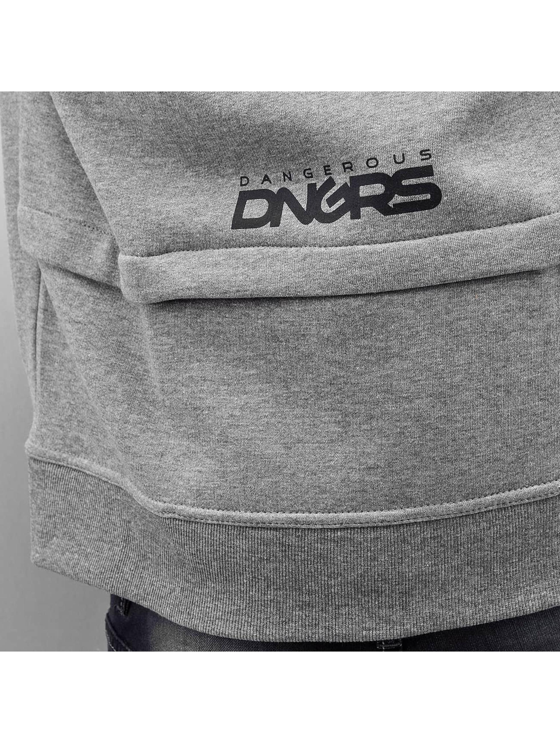 Dangerous DNGRS Zip Hoodie Halil grau