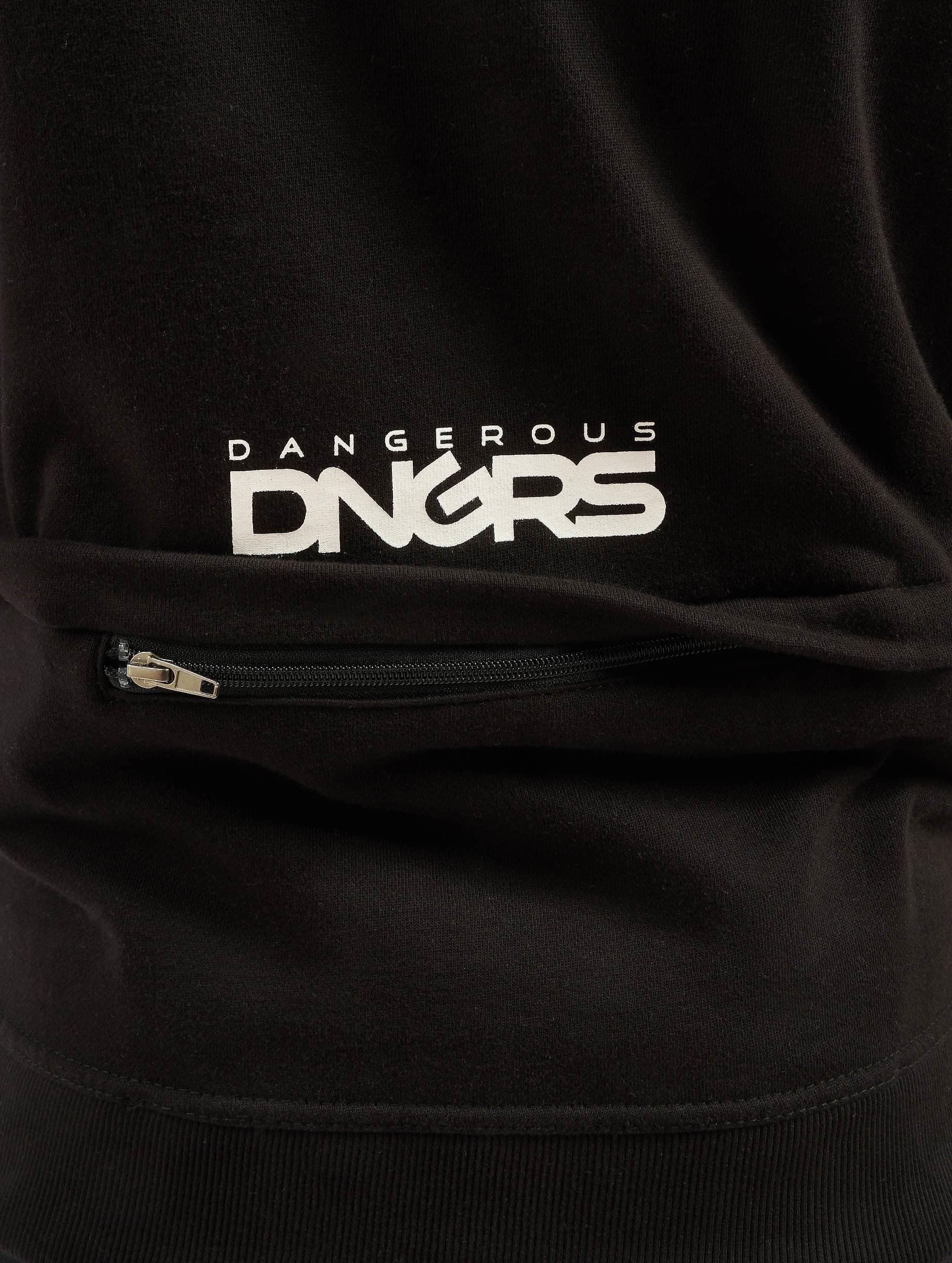 Dangerous DNGRS Zip Hoodie Halil schwarz