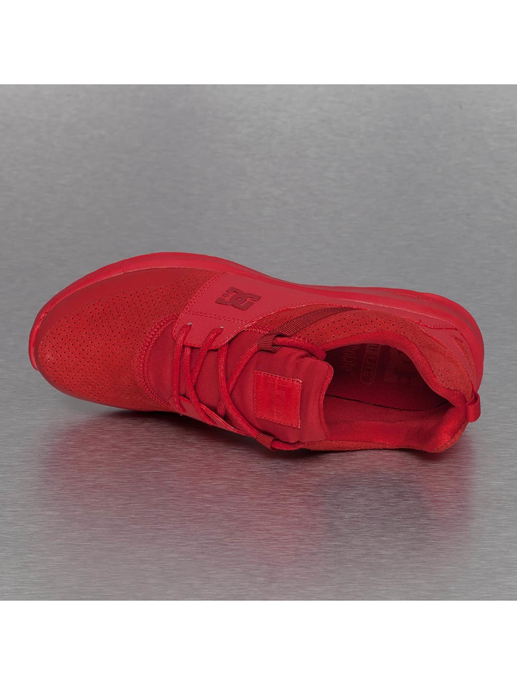 DC Sneakers Heathrow Prestige èervená