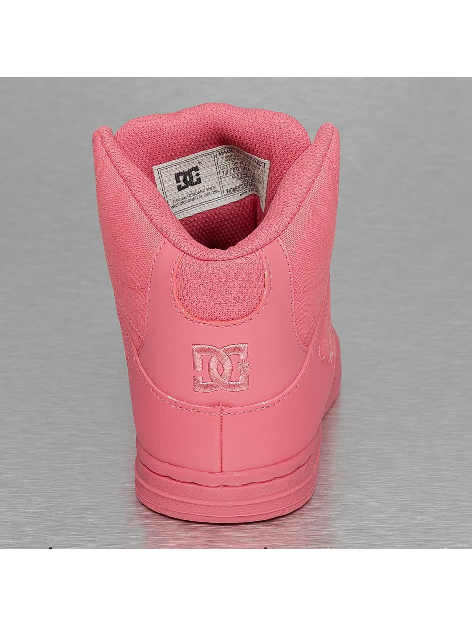 DC Sneakers Rebound High pink