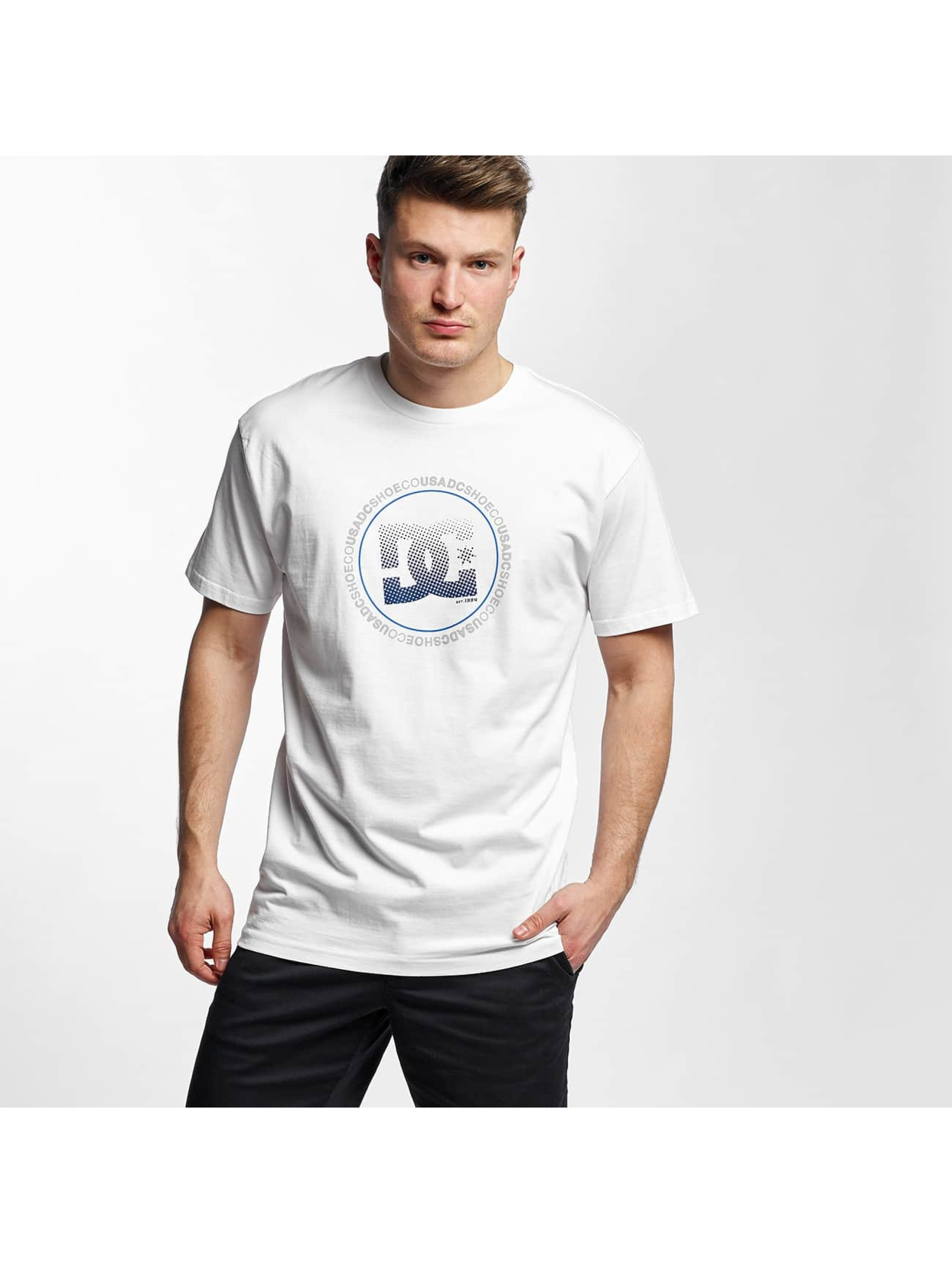 DC Haut / T-Shirt Way Back Circle en blanc