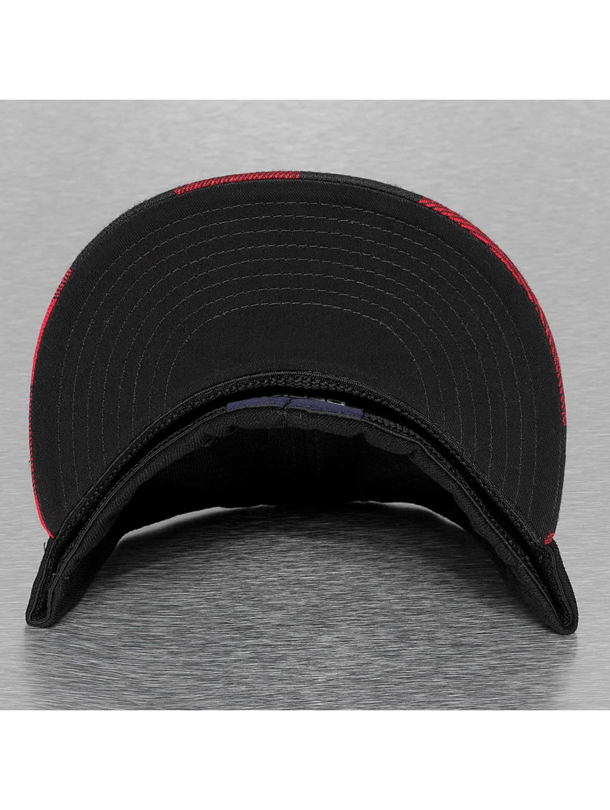 Decky USA Бейсболкa Flexfit Plaid Flat Bill красный