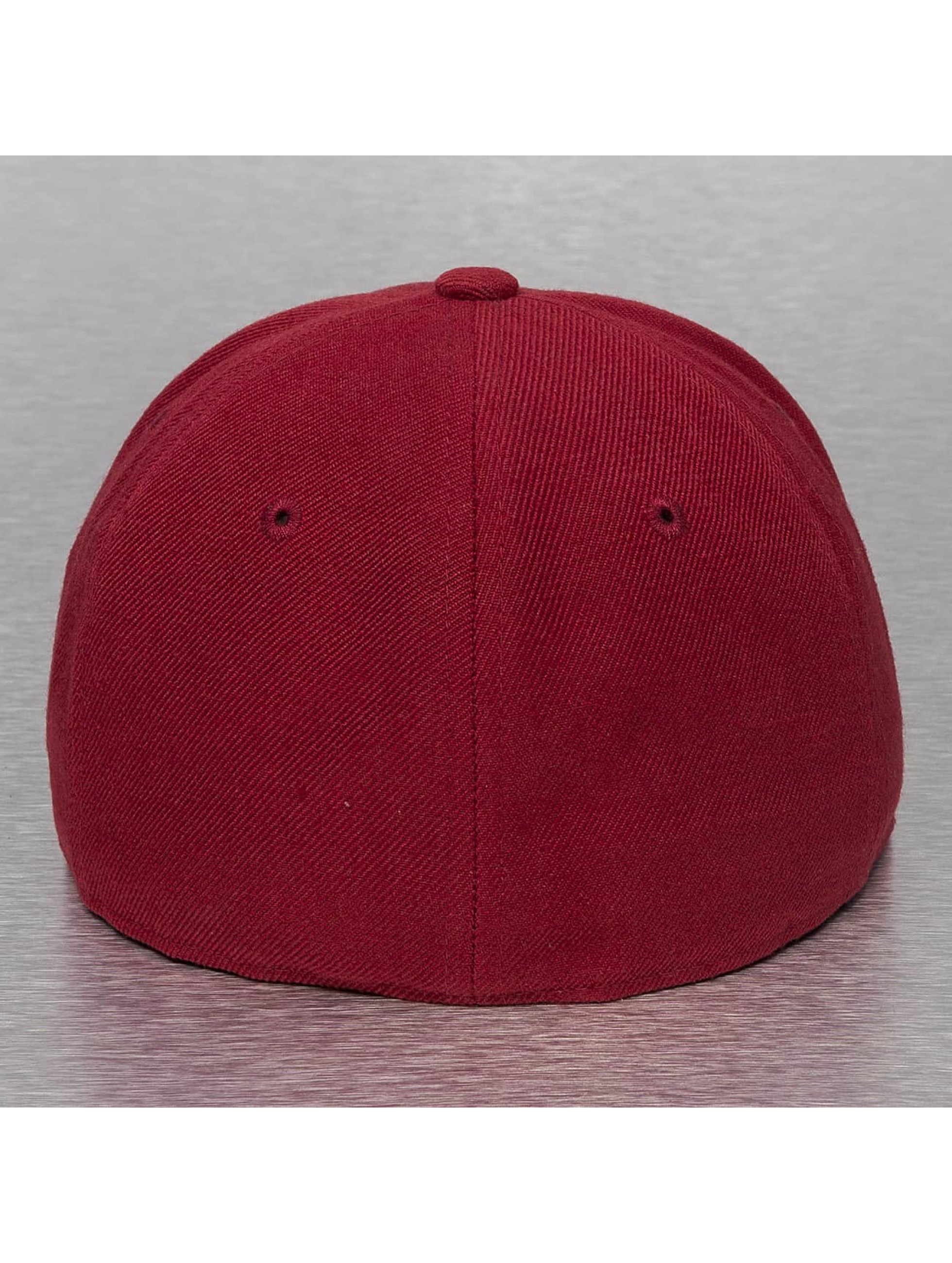 Decky USA Casquette Fitted USA Flat Bill rouge