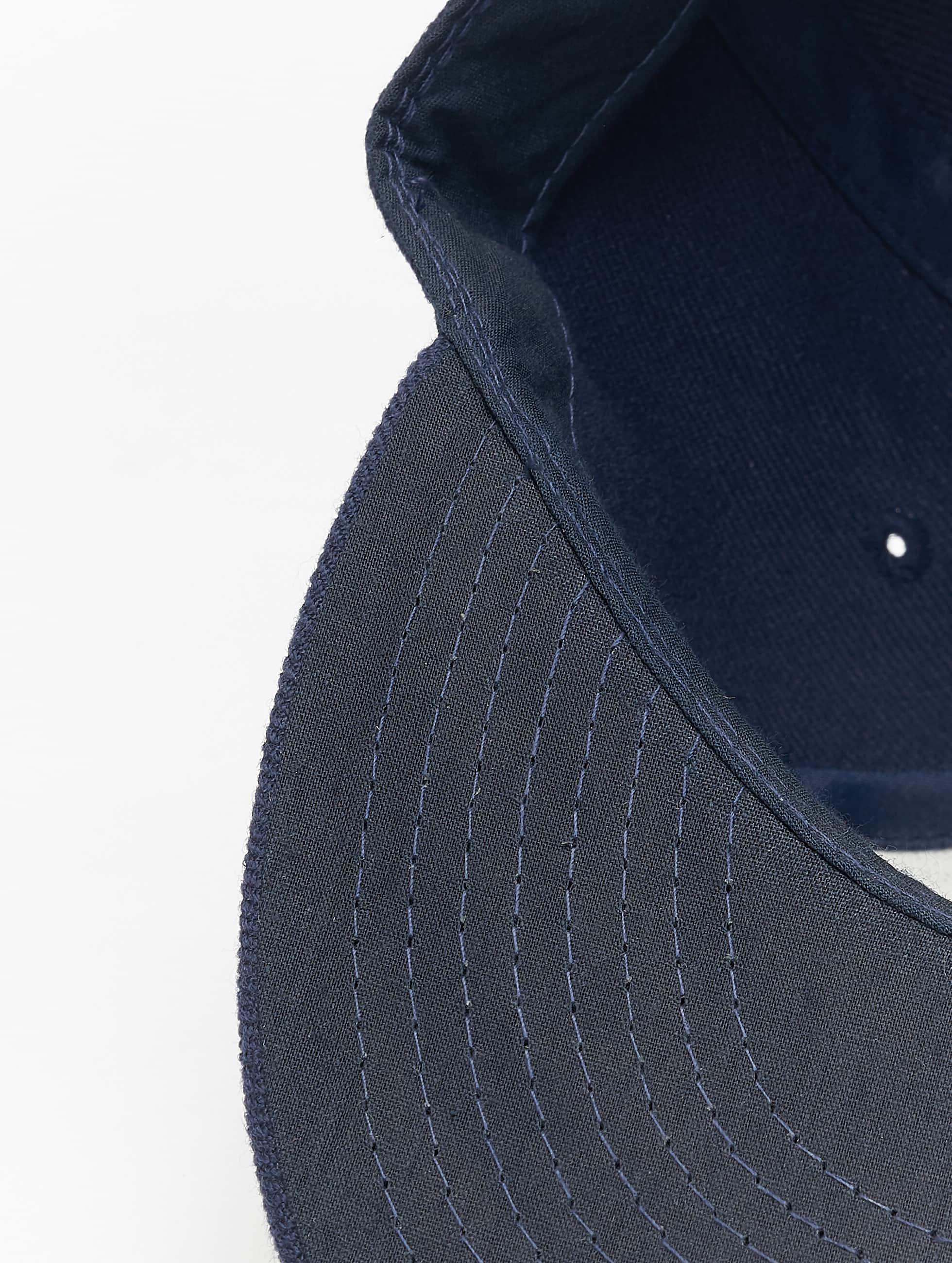 Decky USA Fitted Cap Flat Bill blauw