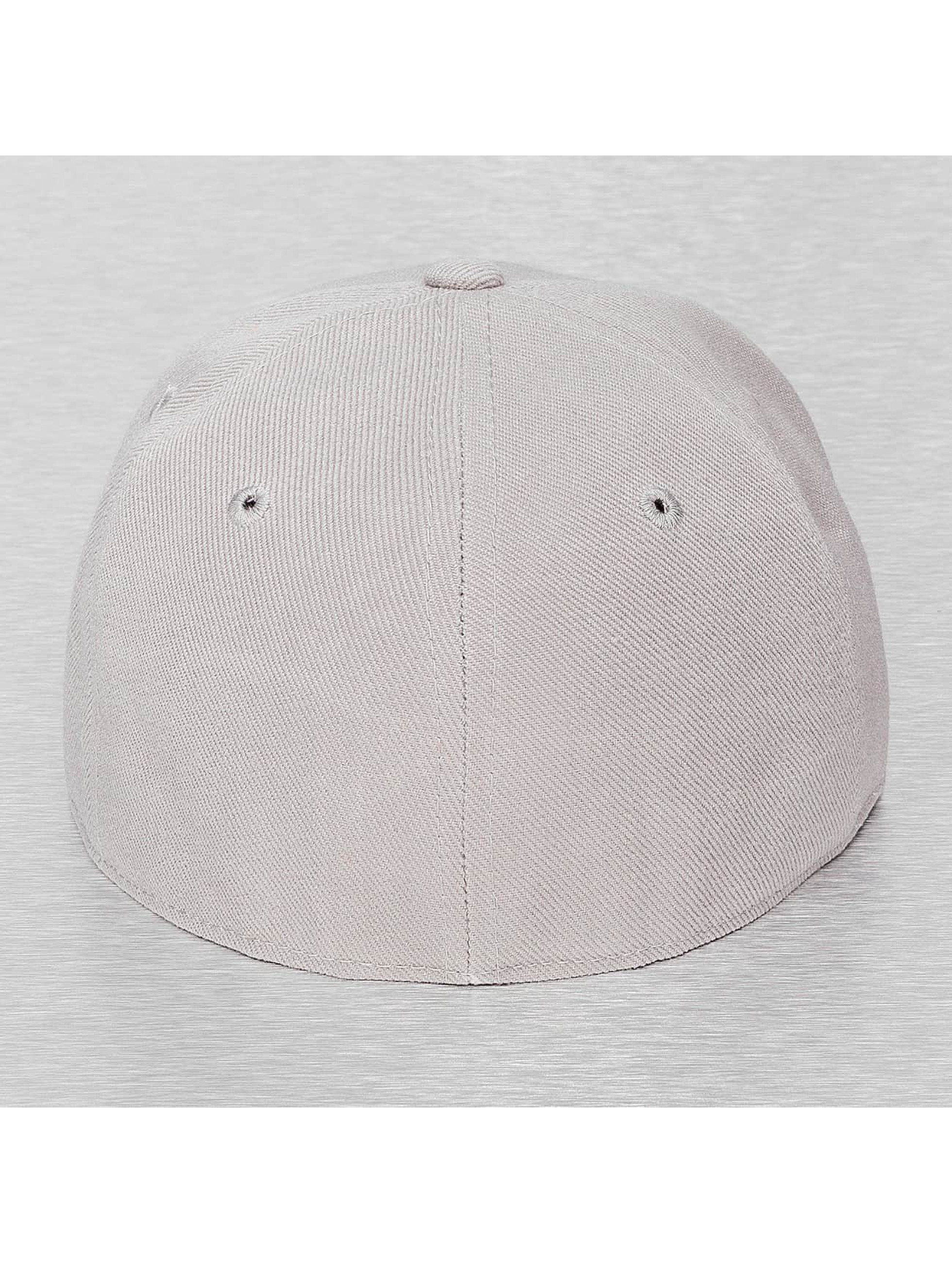 Decky USA Fitted Cap Retro grau