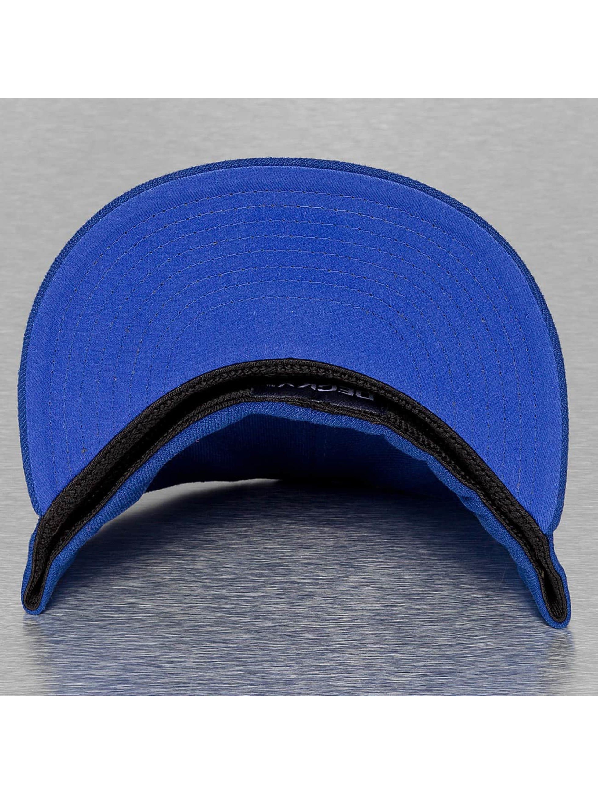 Decky USA Flexfitted Cap Flat Bill blauw
