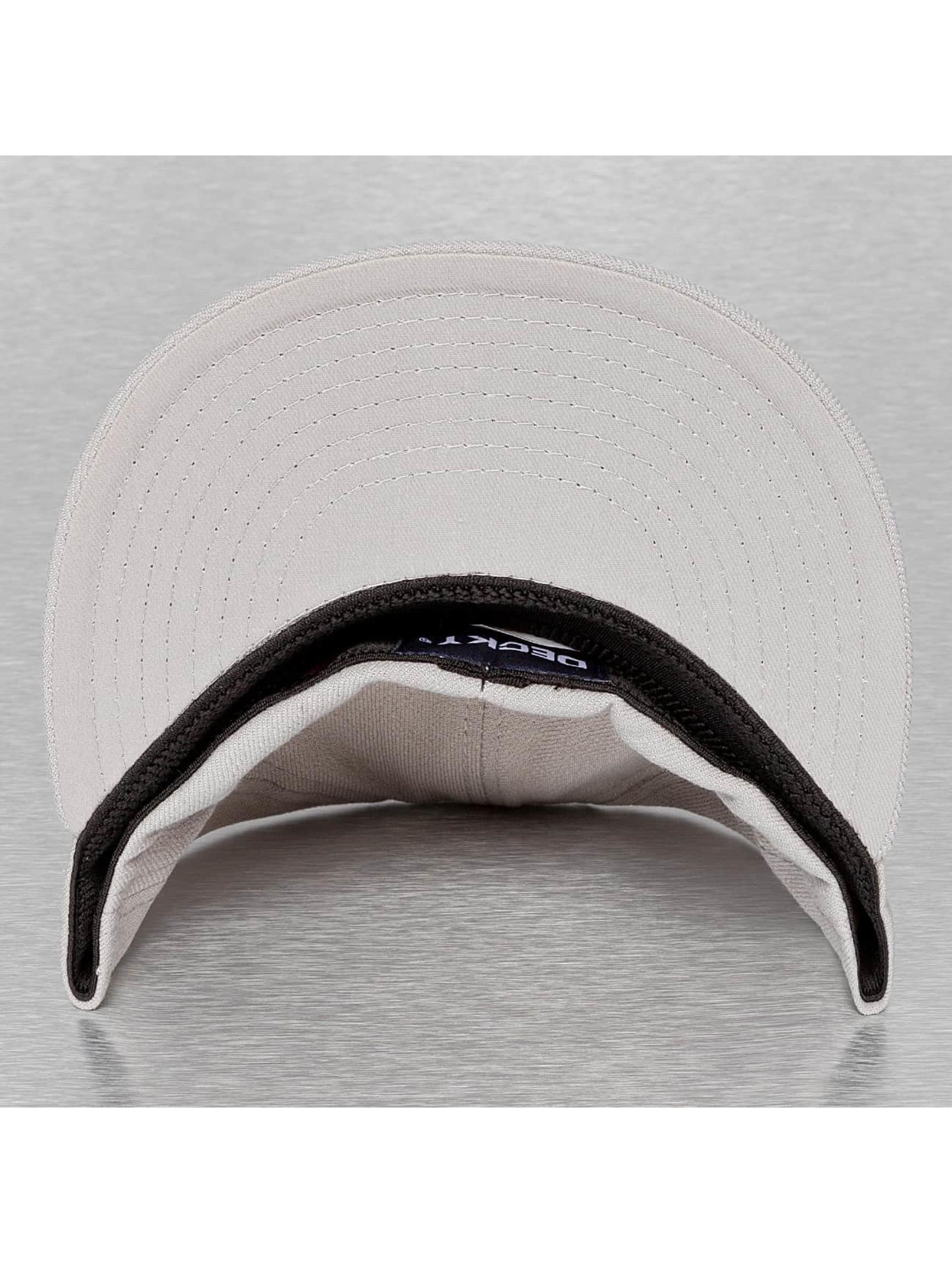 Decky USA Flexfitted-lippikset Flat Bill harmaa