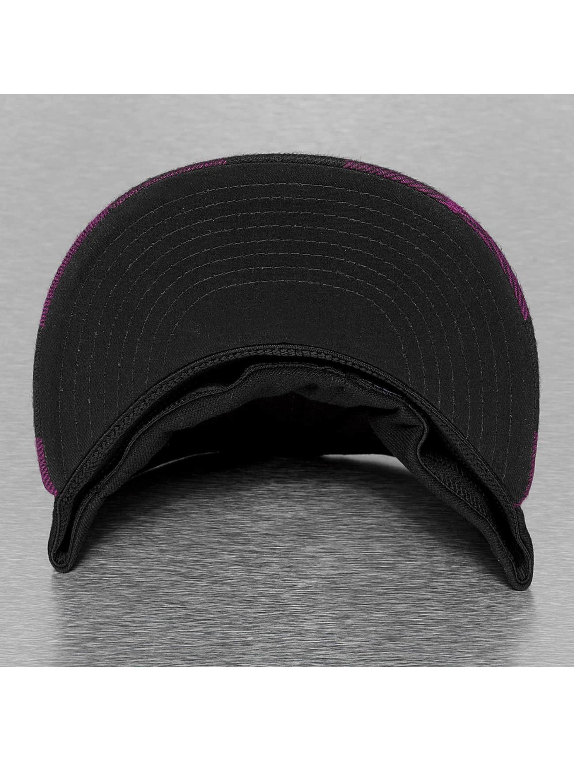 Decky USA Flexfitted-lippikset Flat Bill purpuranpunainen