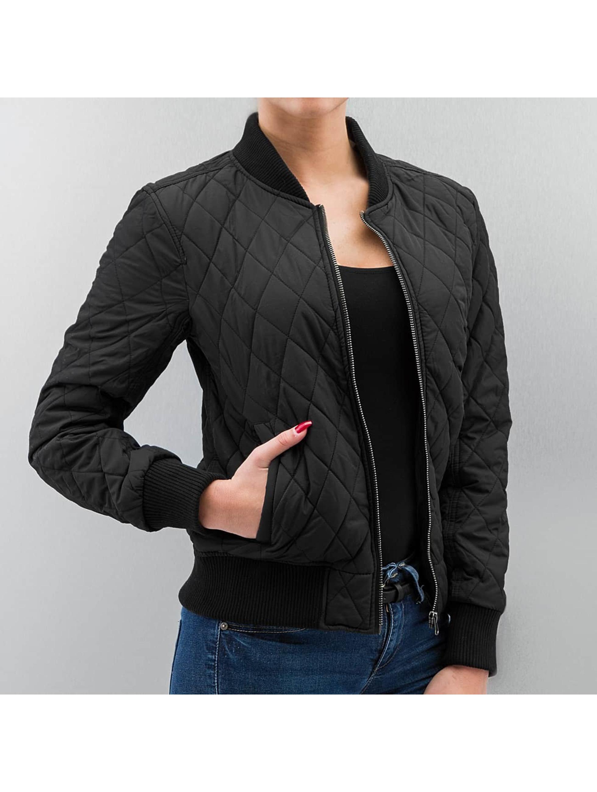 DEF Демисезонная куртка Grace черный
