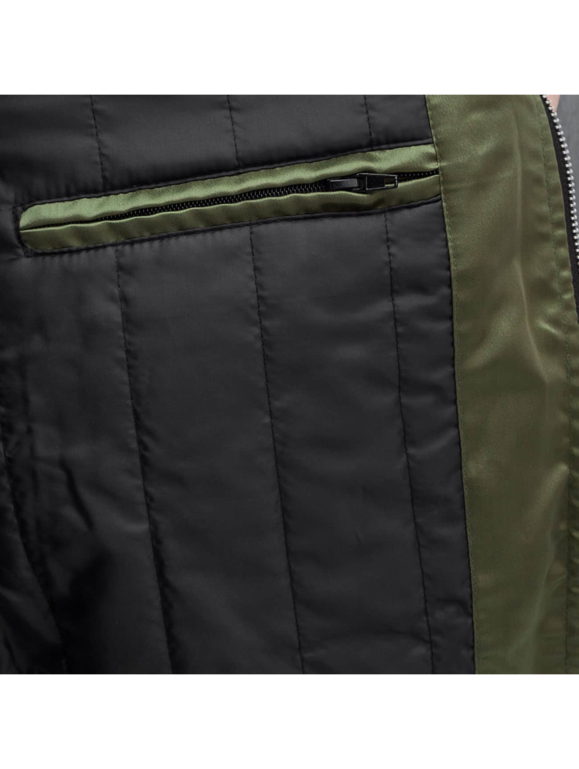 DEF Куртка-бомбардир Leilani оливковый