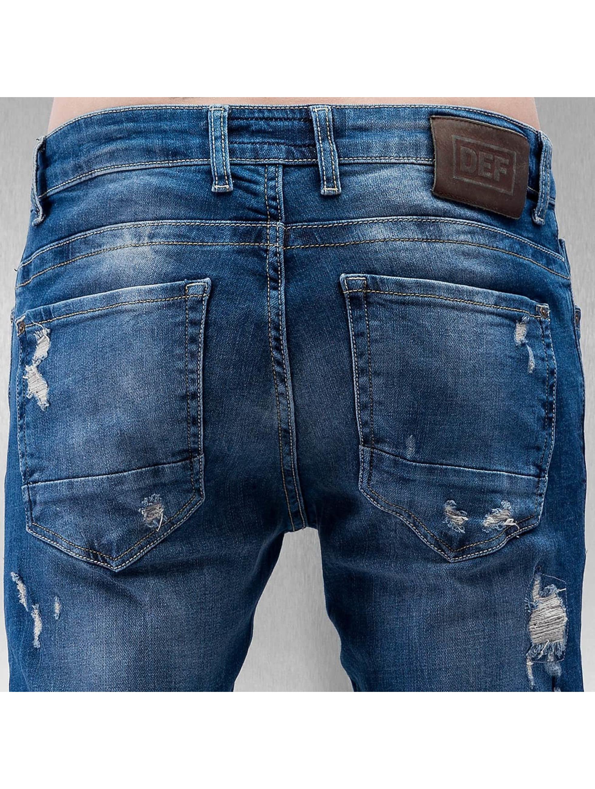 DEF Облегающие джинсы Egino синий