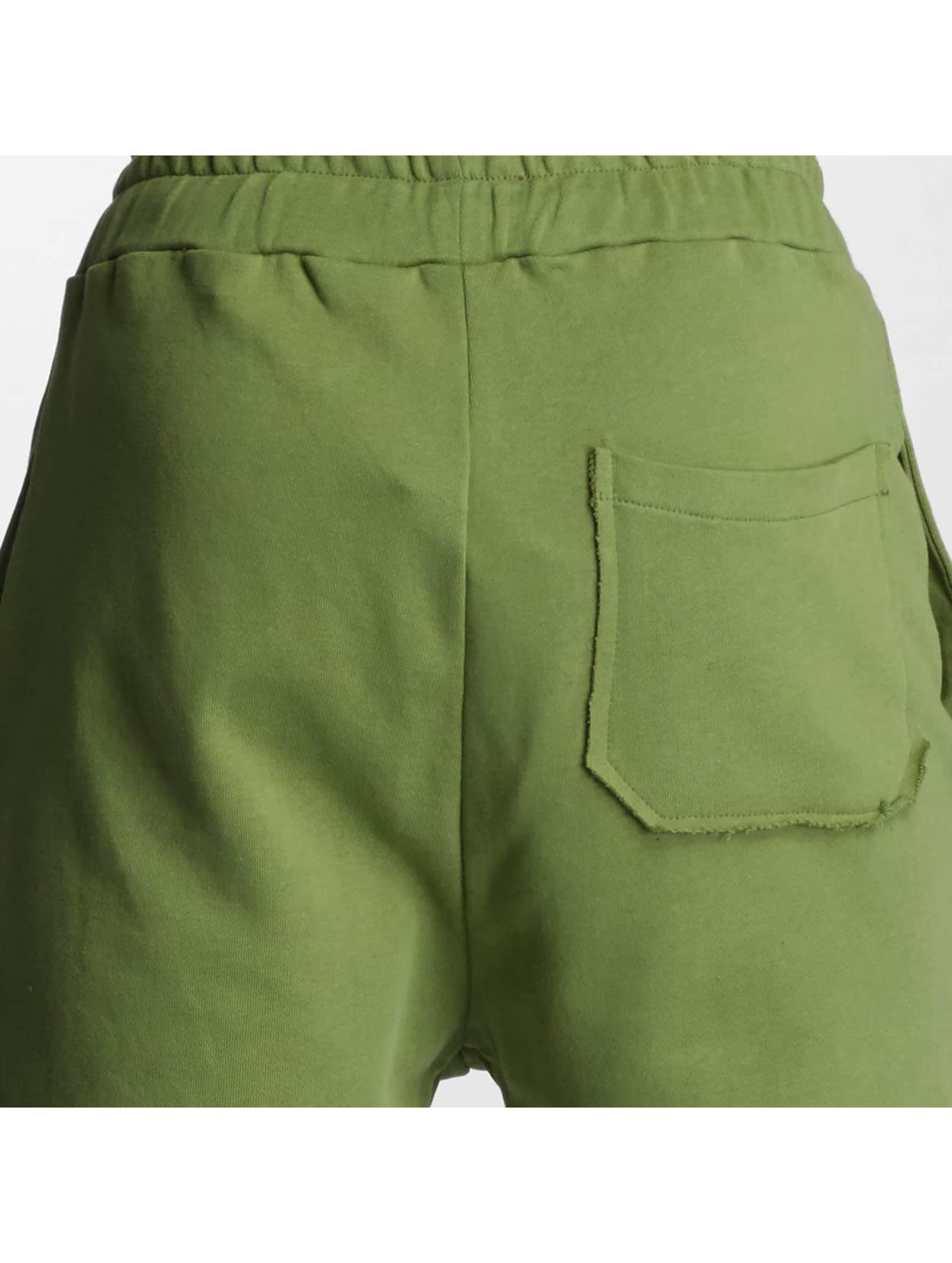 DEF Спортивные брюки Destroyed оливковый
