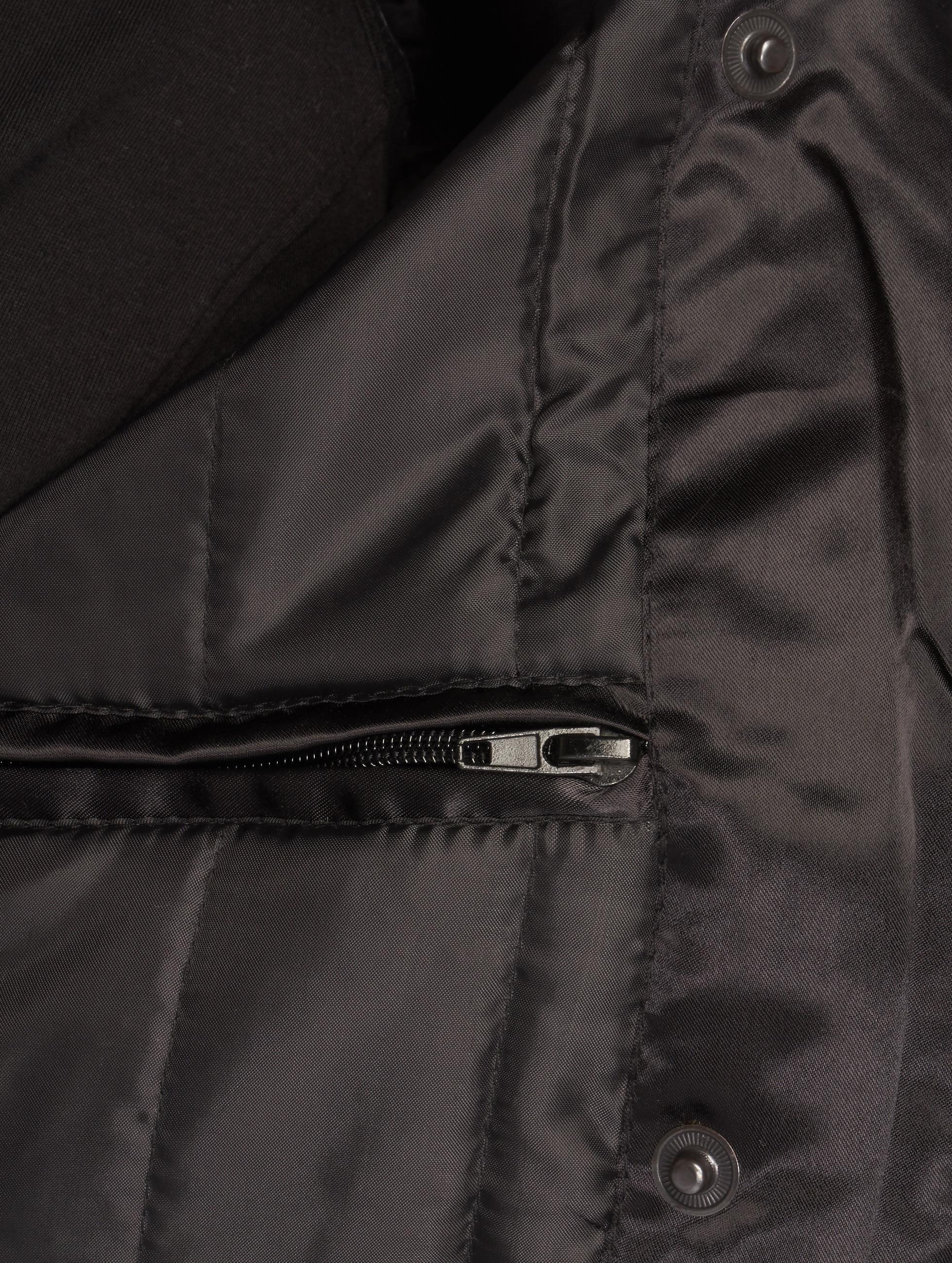 DEF Bomber jacket Fake Fur black
