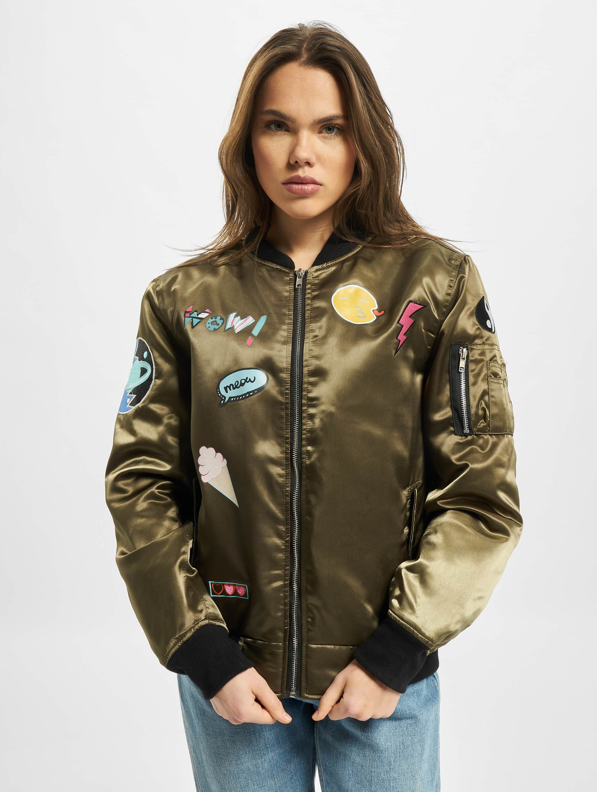 DEF Bomber jacket Wow! olive