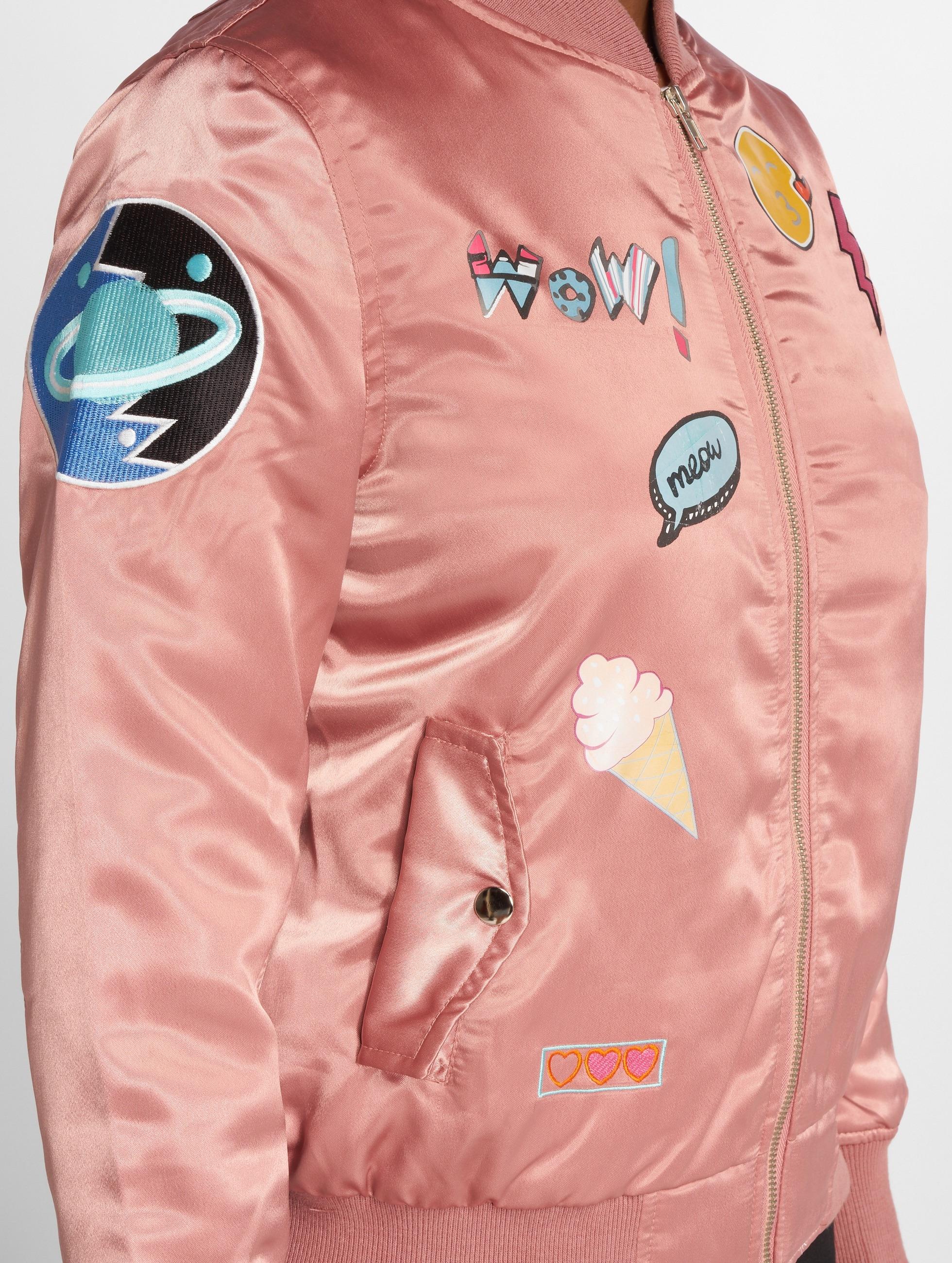 DEF Bomber jacket Wow! rose